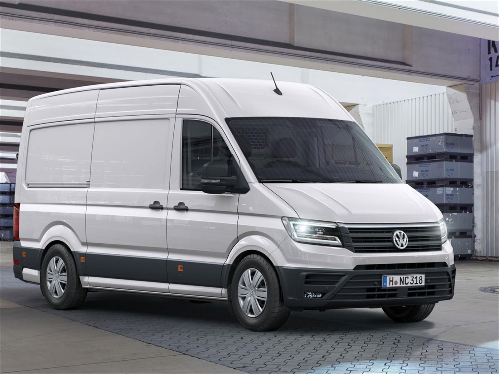 volkswagen crafter 2017 directamente con contra la sprinter de mercedes benz. Black Bedroom Furniture Sets. Home Design Ideas