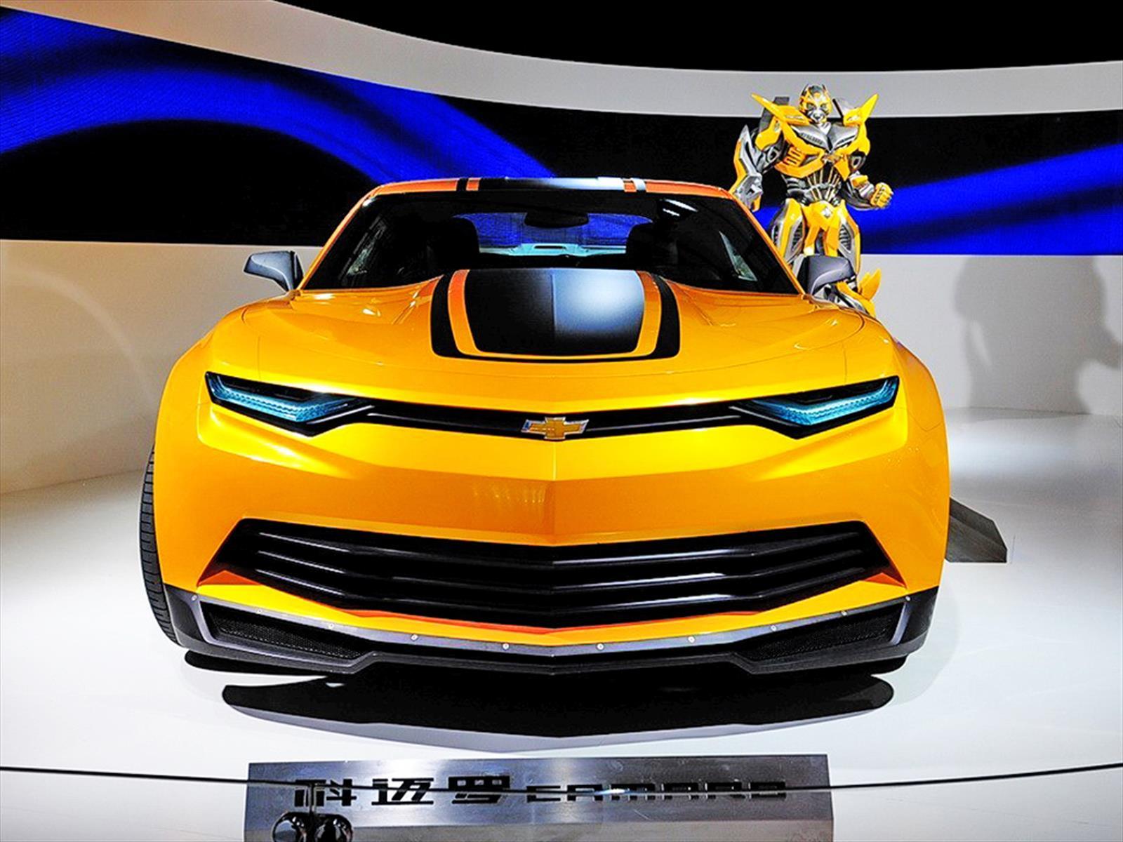 Transformers La Pelcula Que Hizo Del Camaro Una Estrella