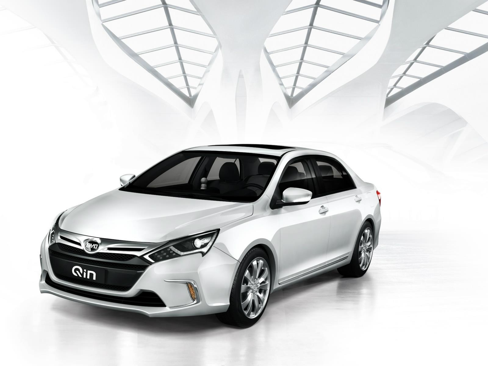 Image result for 2018 BYD Qin DM 100