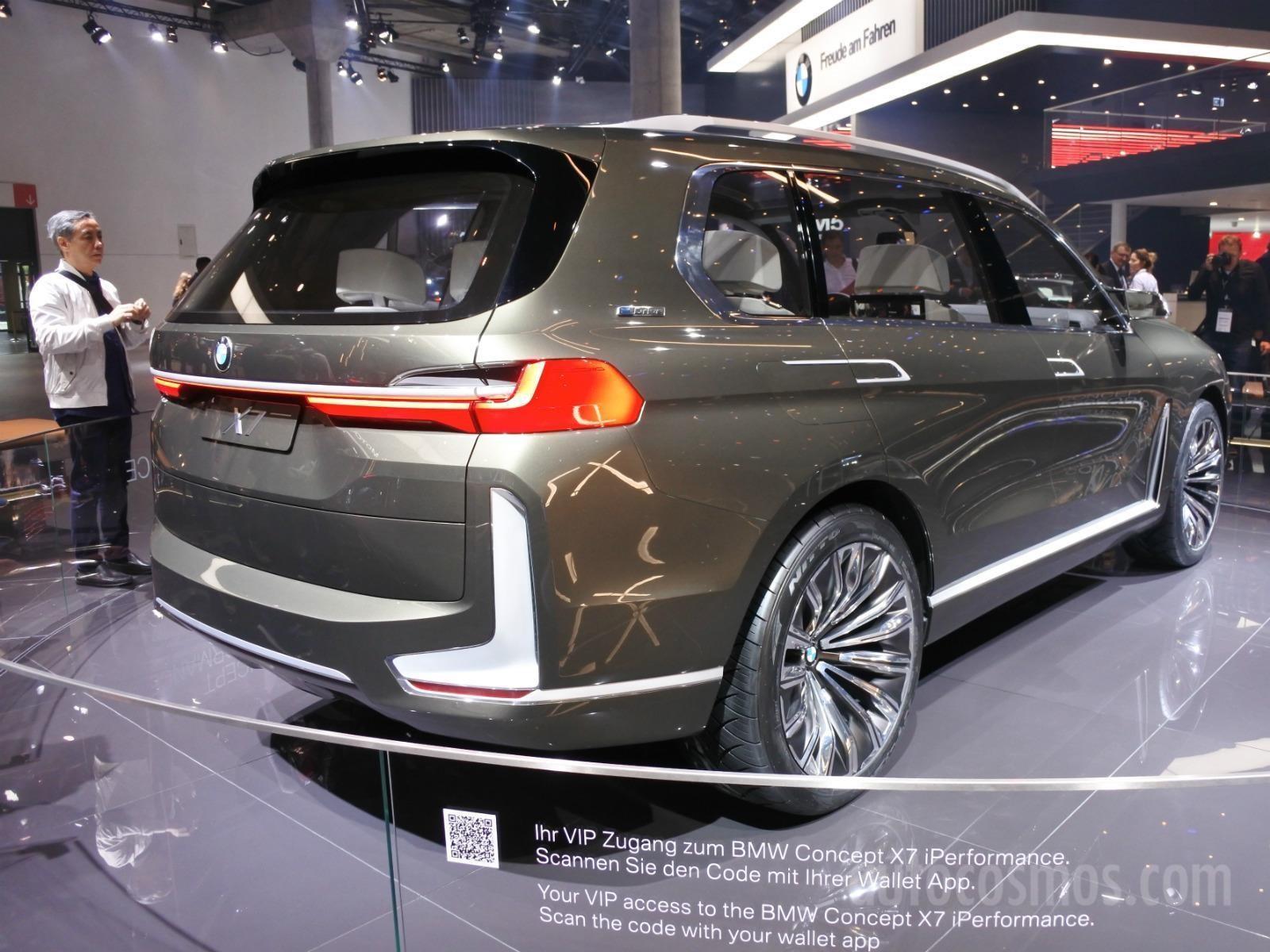 Auto Show de FrankFurt 2017 - BMW Concept X7 iPerformance - Noticias ...