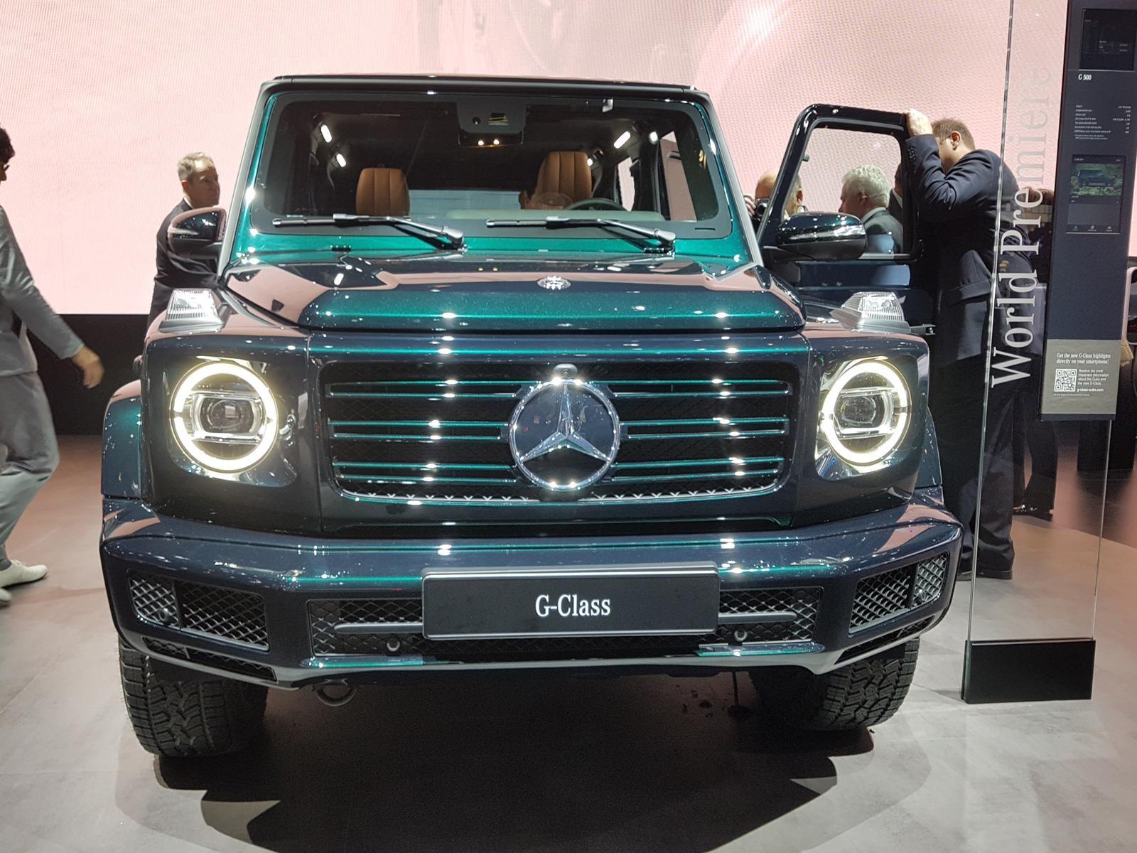 15 Datos De La Nueva Mercedes Benz Clase G 2019 Autocosmos Com