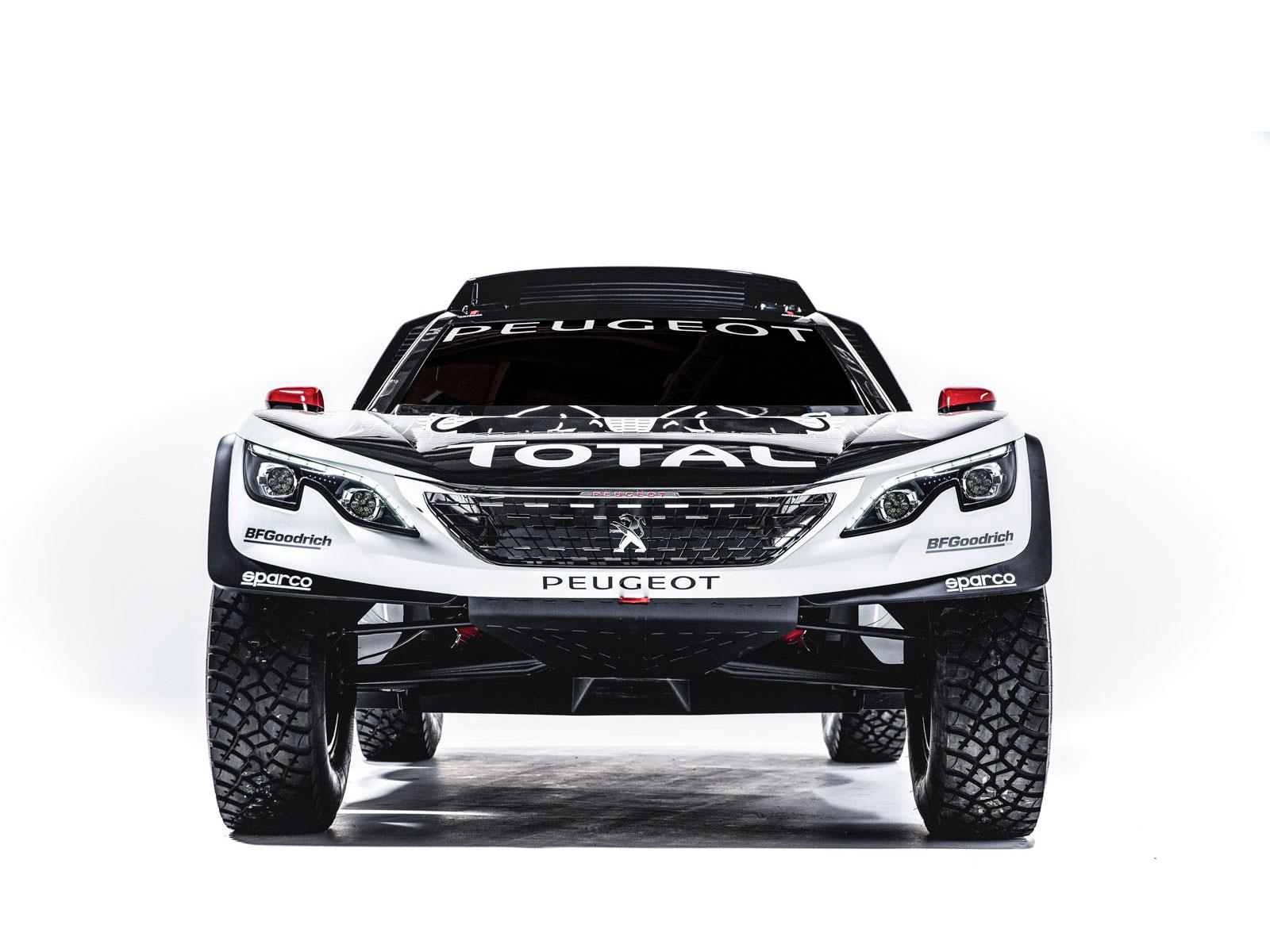 peugeot 3008 dkr maxi listo para el dakar. Black Bedroom Furniture Sets. Home Design Ideas
