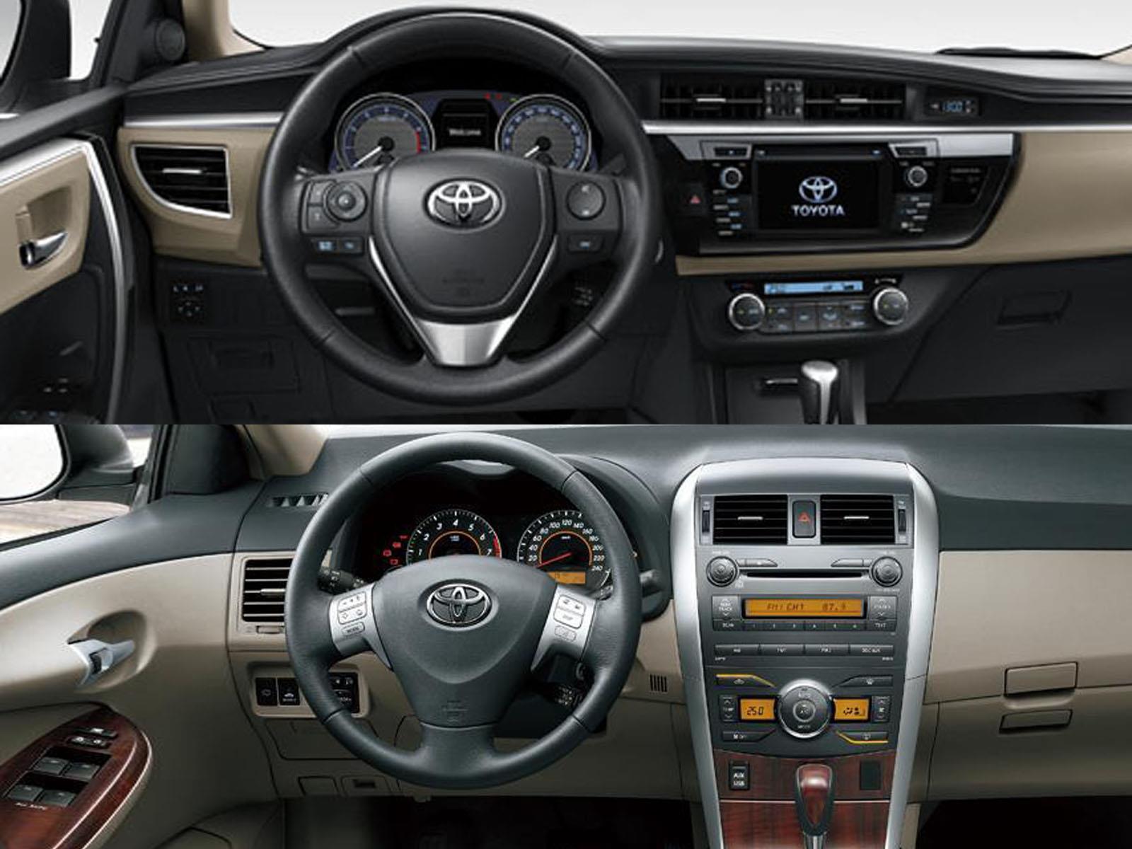 Nuevo Toyota Corolla Vs La Generaci 243 N Anterior