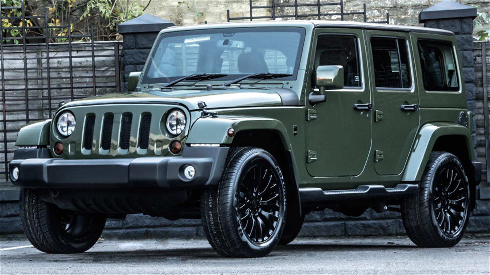 Jeep Wrangler Sahara Chelsea Truck Company Apariencia 100