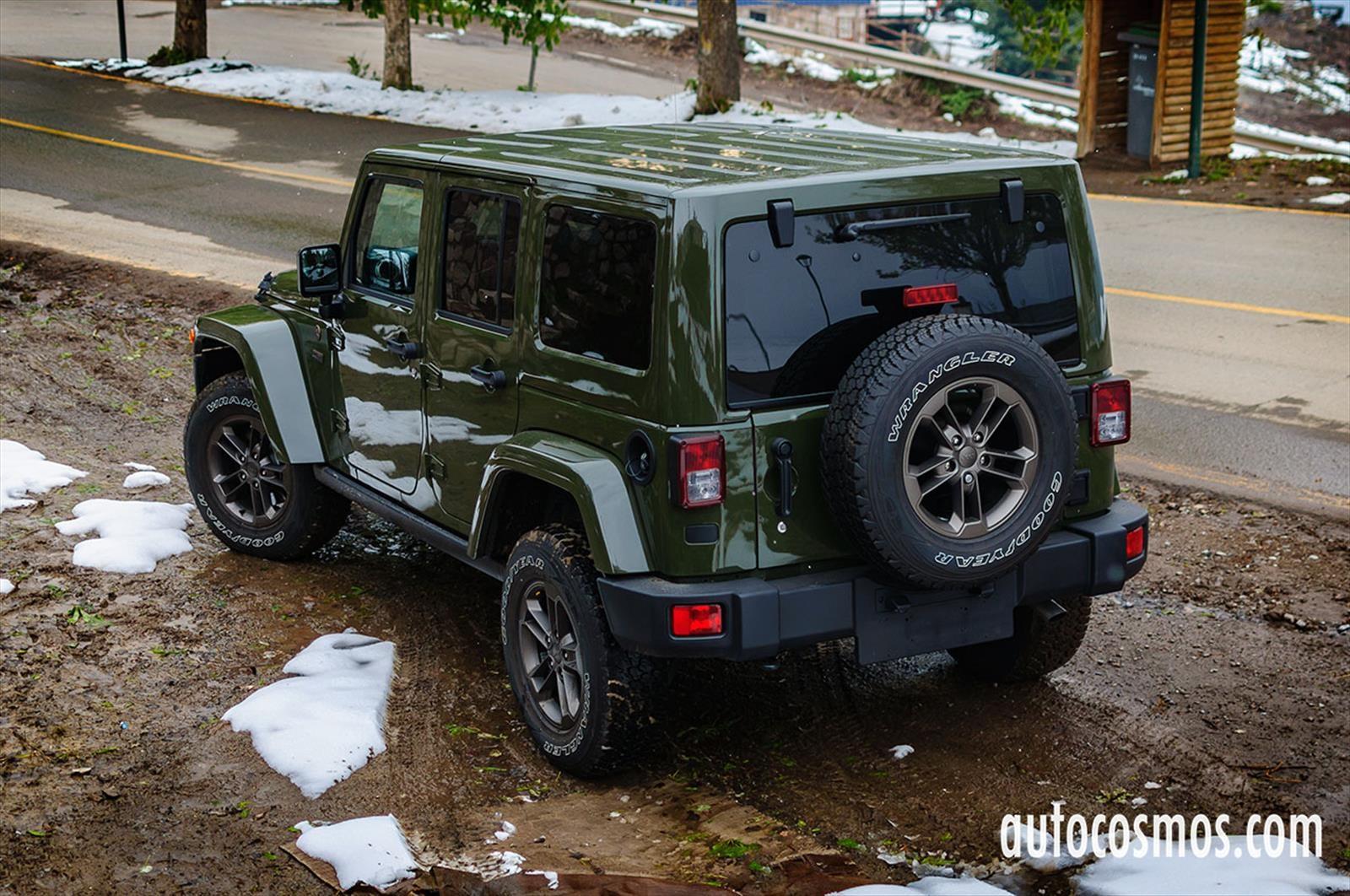 Test Drive: Jeep Wrangler Unlimited Edición 75 Aniversario ...