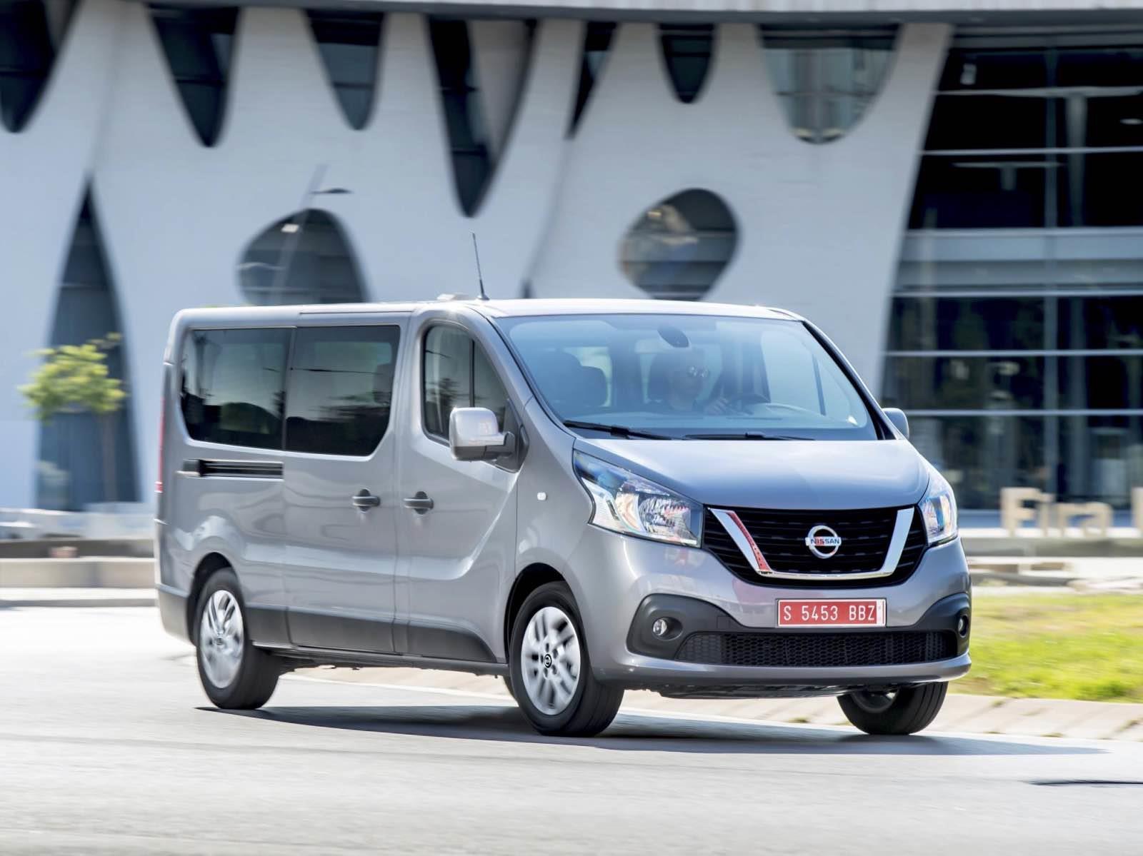 Nissan NV300 es renovada - Autocosmos.com