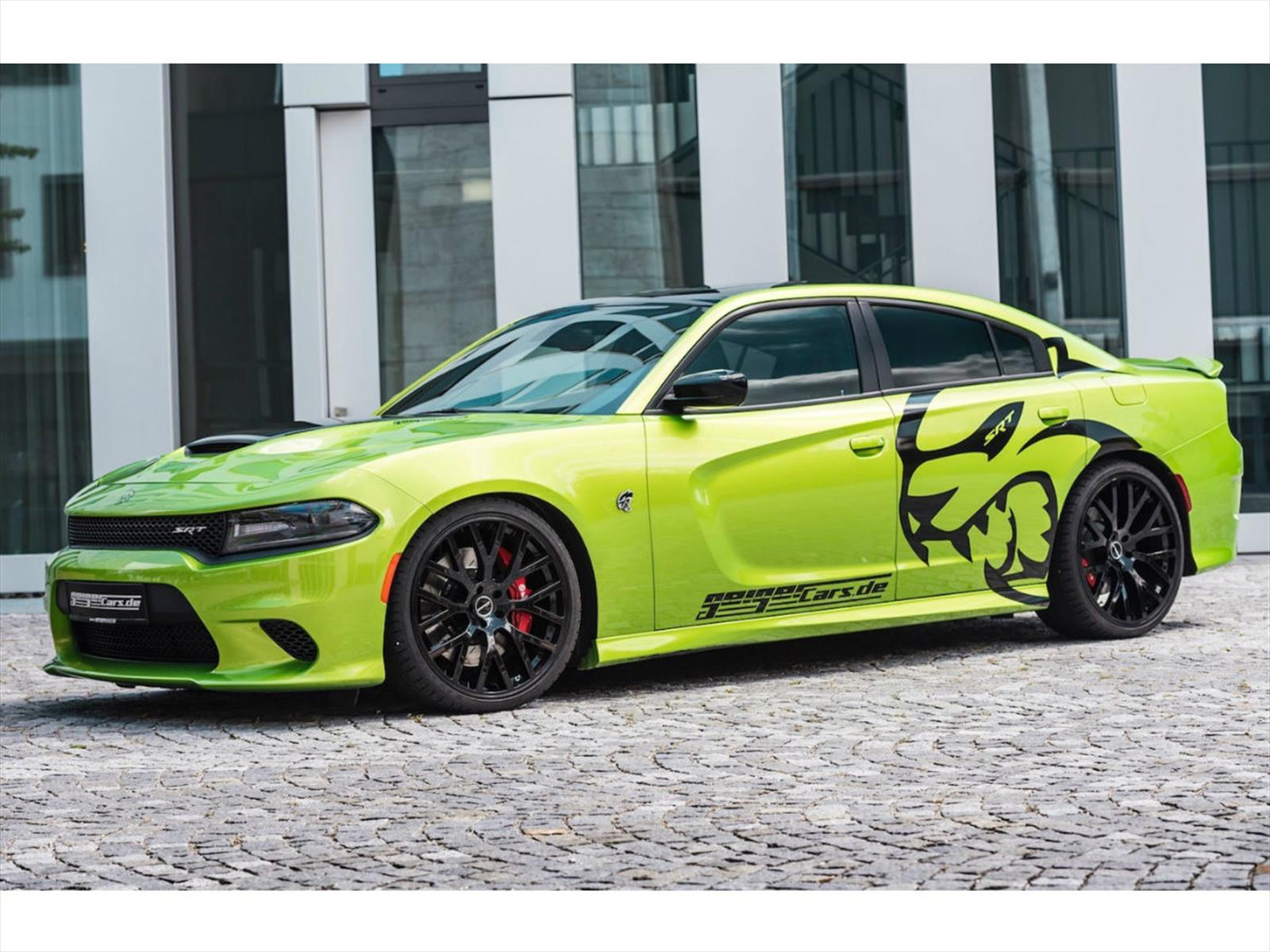 Dodge Charger SRT Hellcat por GiegerCars, un demonio del ...
