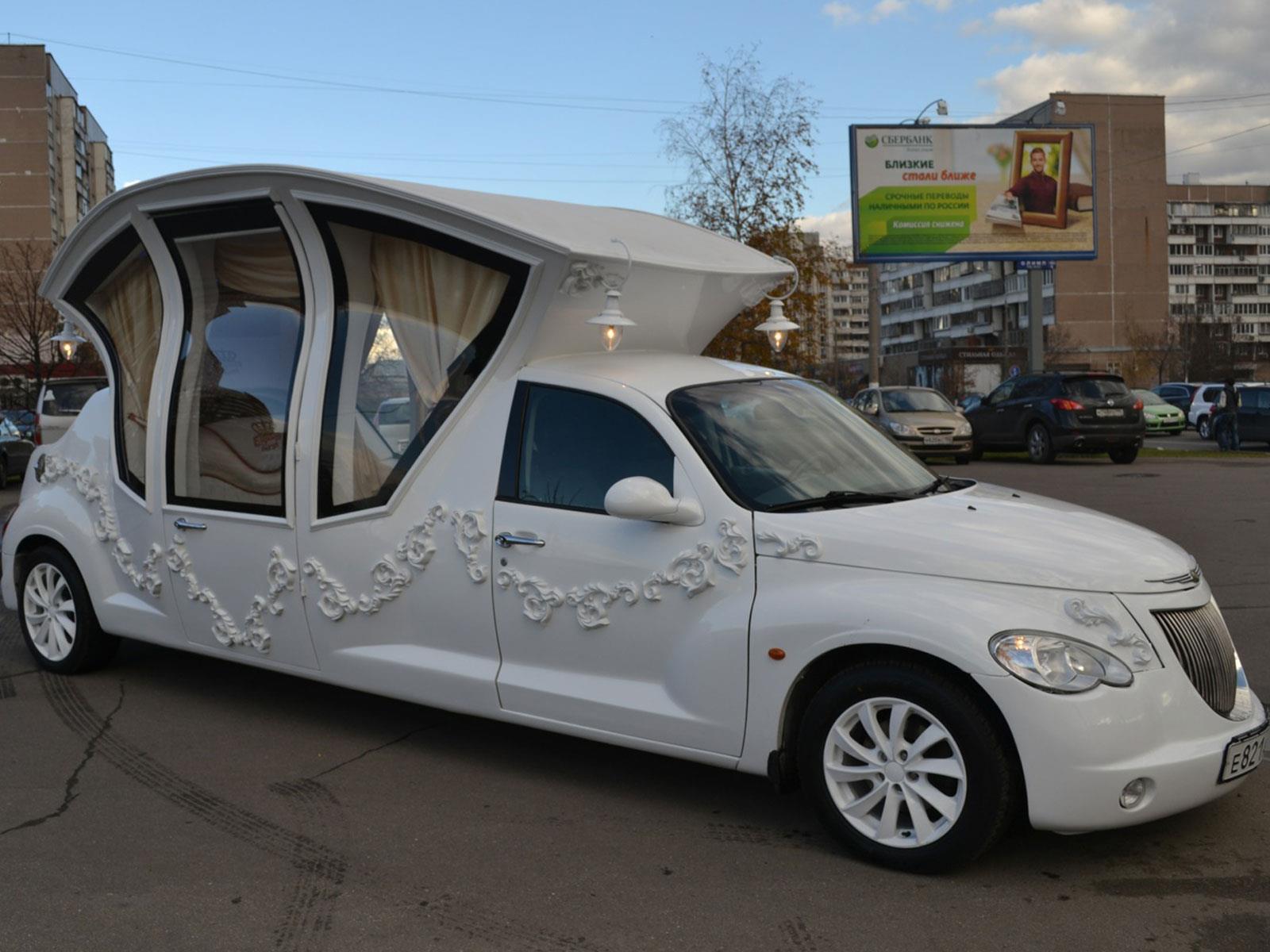 chrysler p t cruiser se transforma en limusina. Black Bedroom Furniture Sets. Home Design Ideas