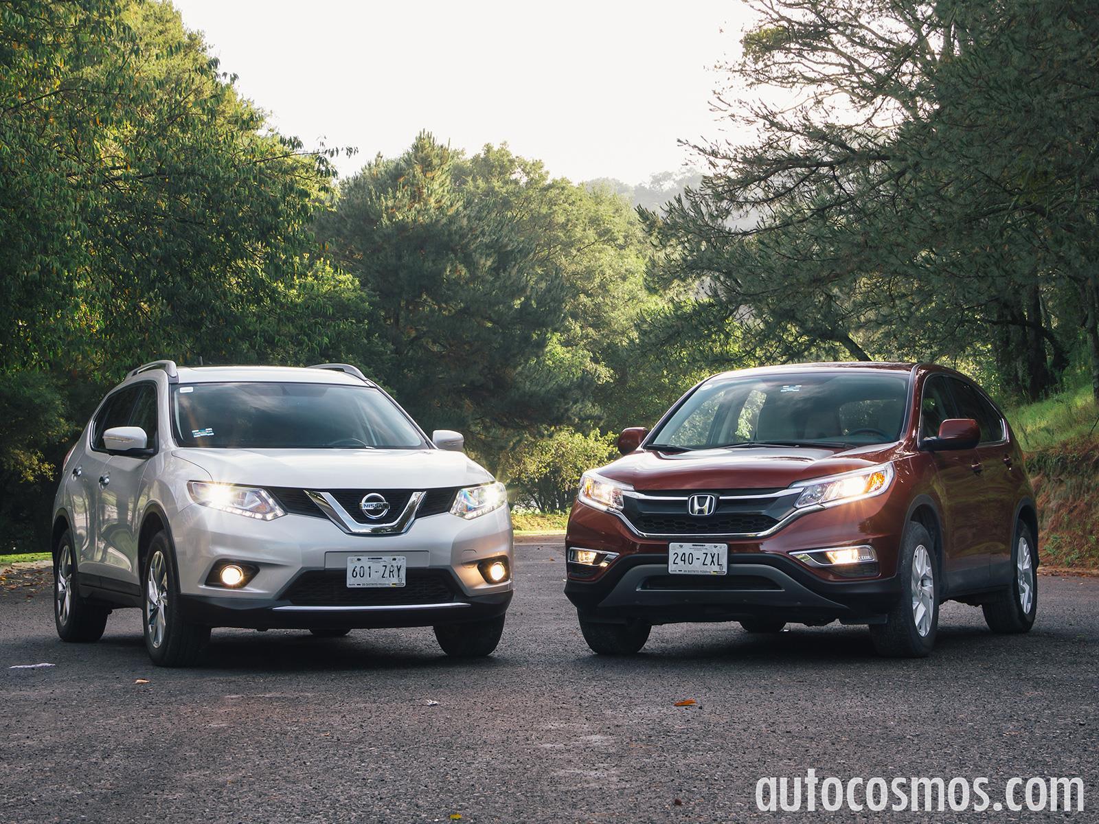 Comparativa: Honda CR-V vs Nissan X-Trail 2015 - Autocosmos.com