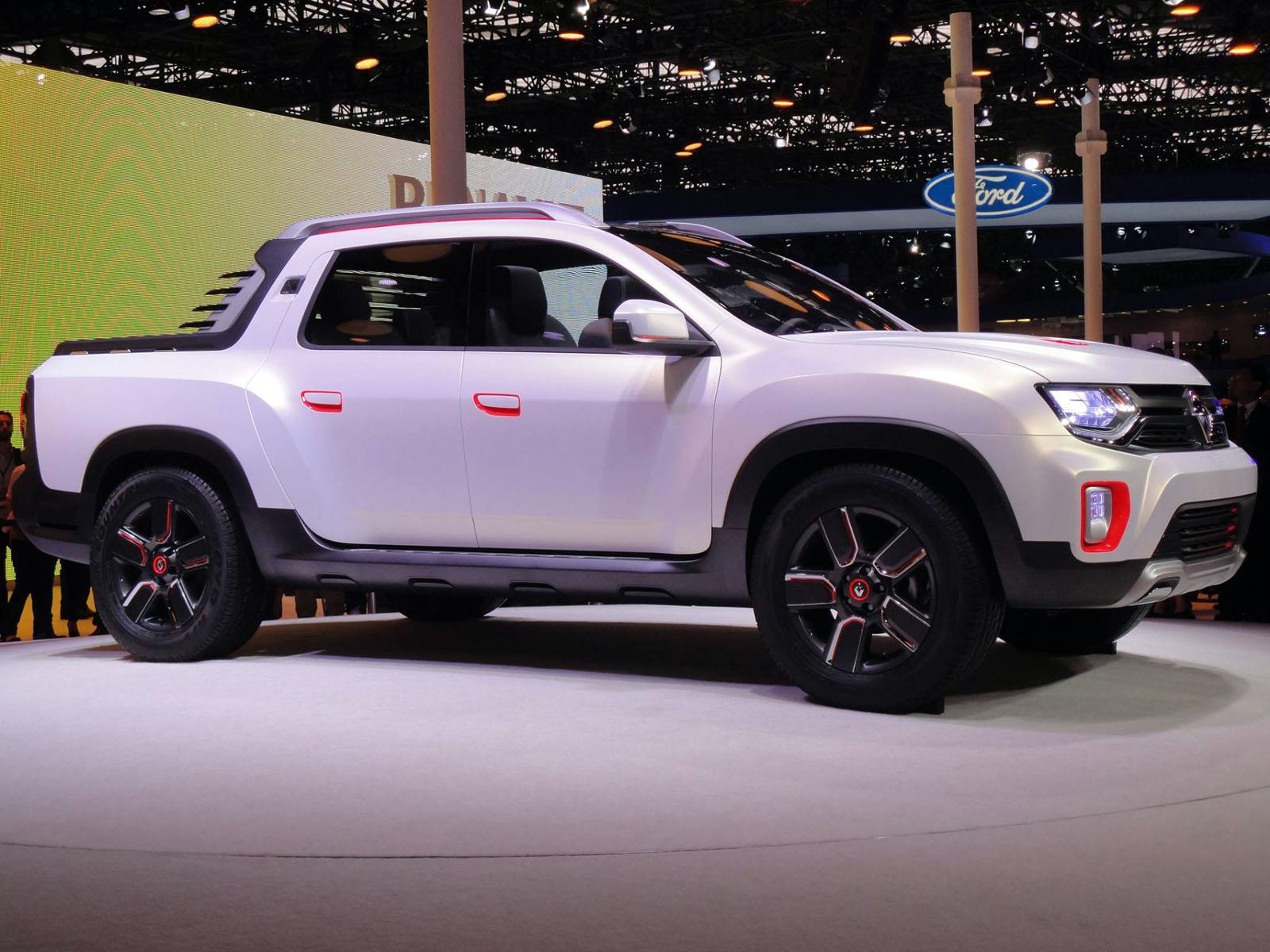 Salón de San Pablo 2014 - Renault Duster Oroch, la pick-up