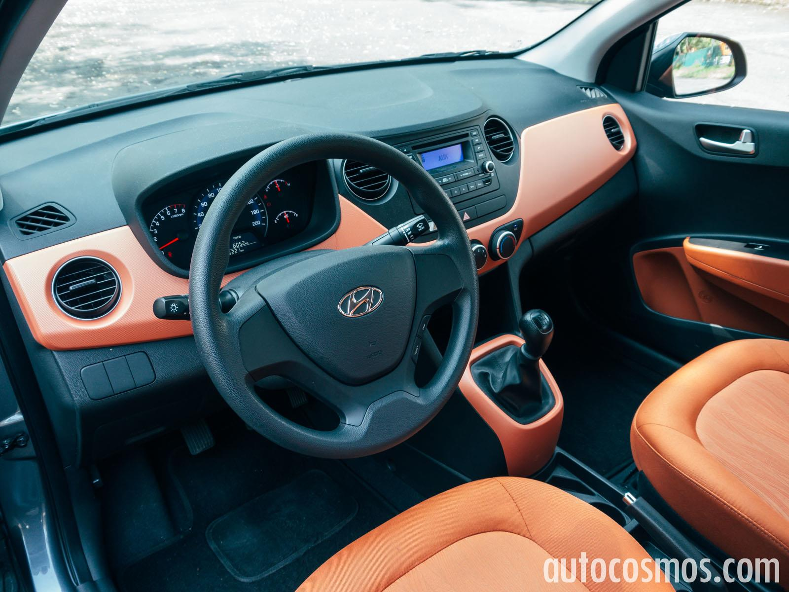 Hyundai Grand I10 Sedan 2015 A Prueba on kia sedona manual
