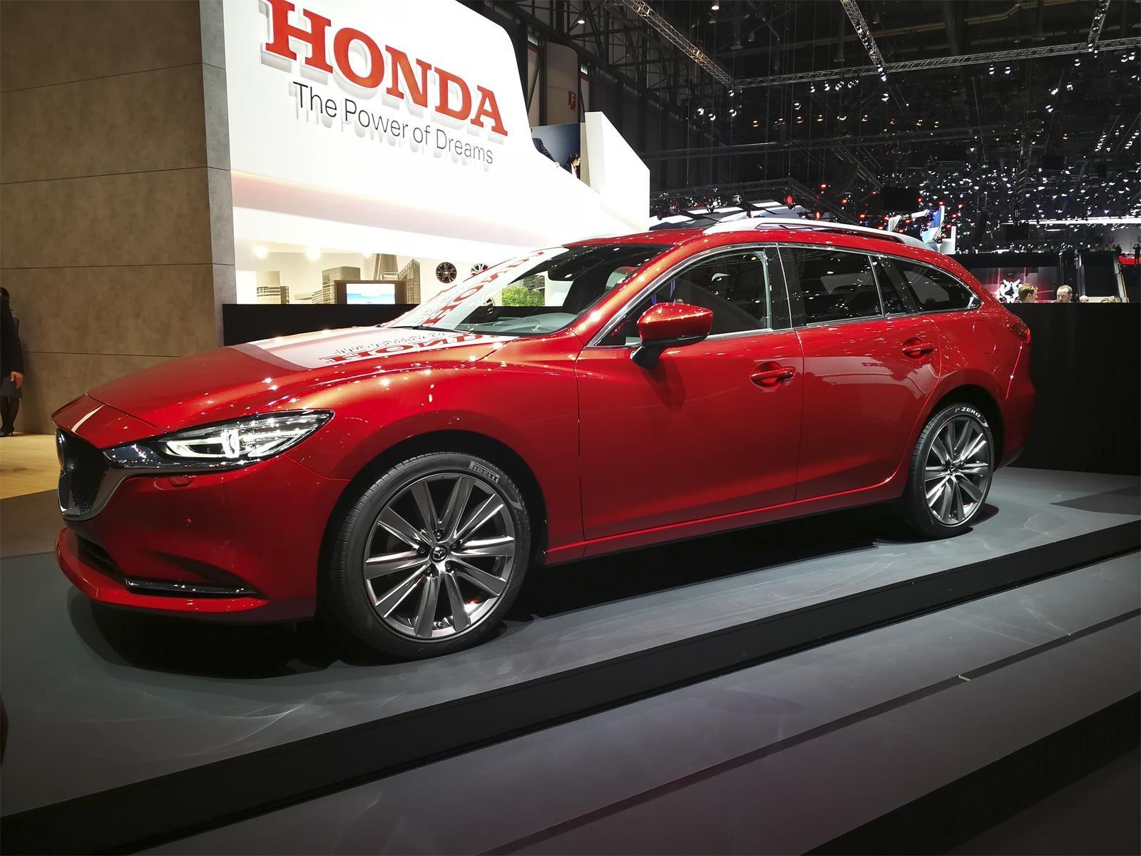 Sal 243 N De Ginebra 2018 Mazda 6 Wagon Un Familiar De Lujo