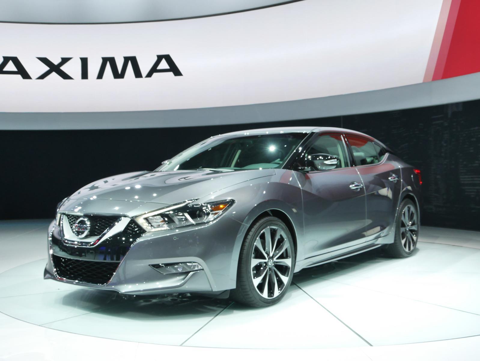 Auto Show de Nueva York 2015 - Nissan Maxima 2016 se ...