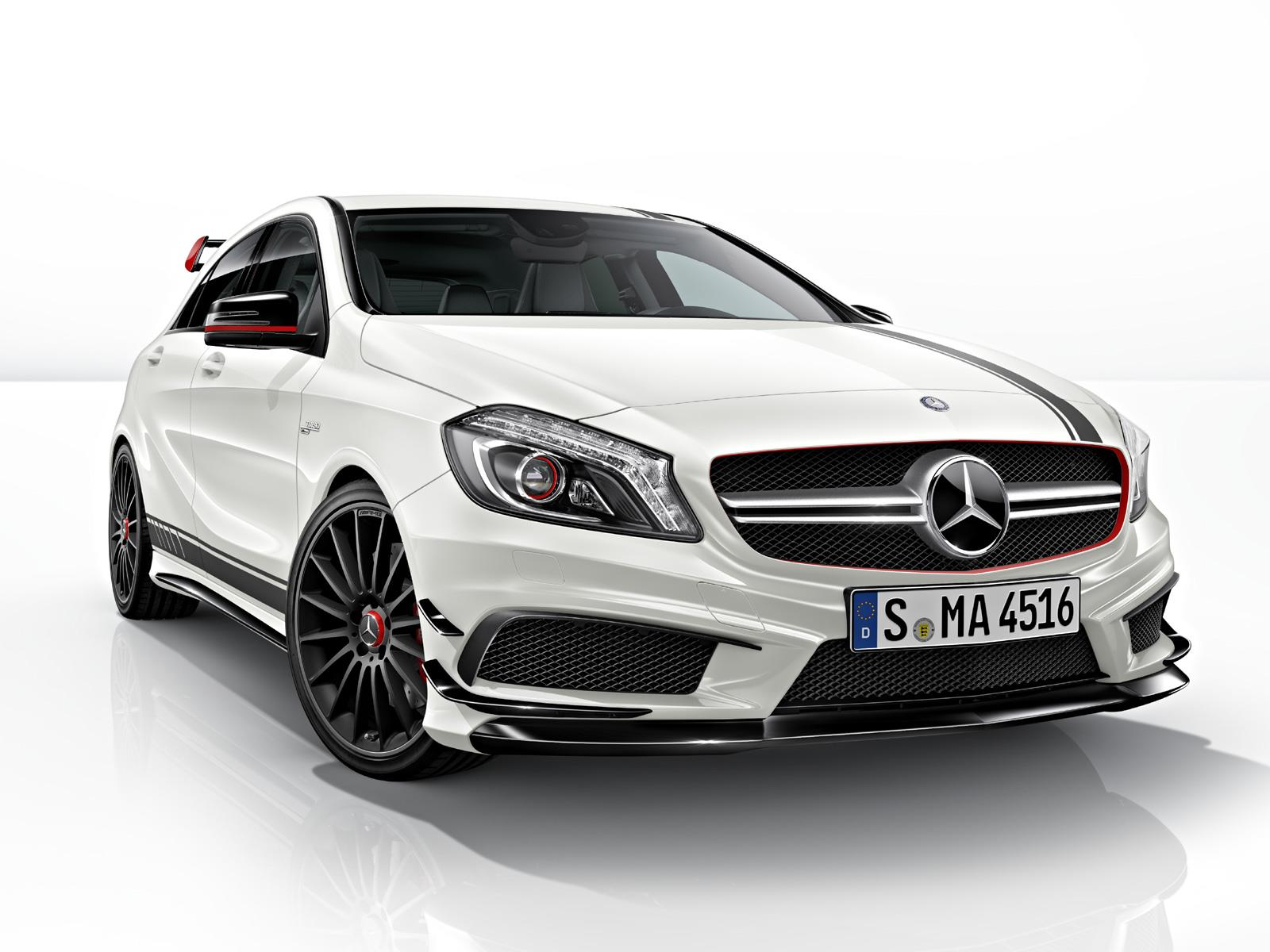 mercedes benz a 45 amg edition 1 llega a m xico en 849 900 pesos. Black Bedroom Furniture Sets. Home Design Ideas