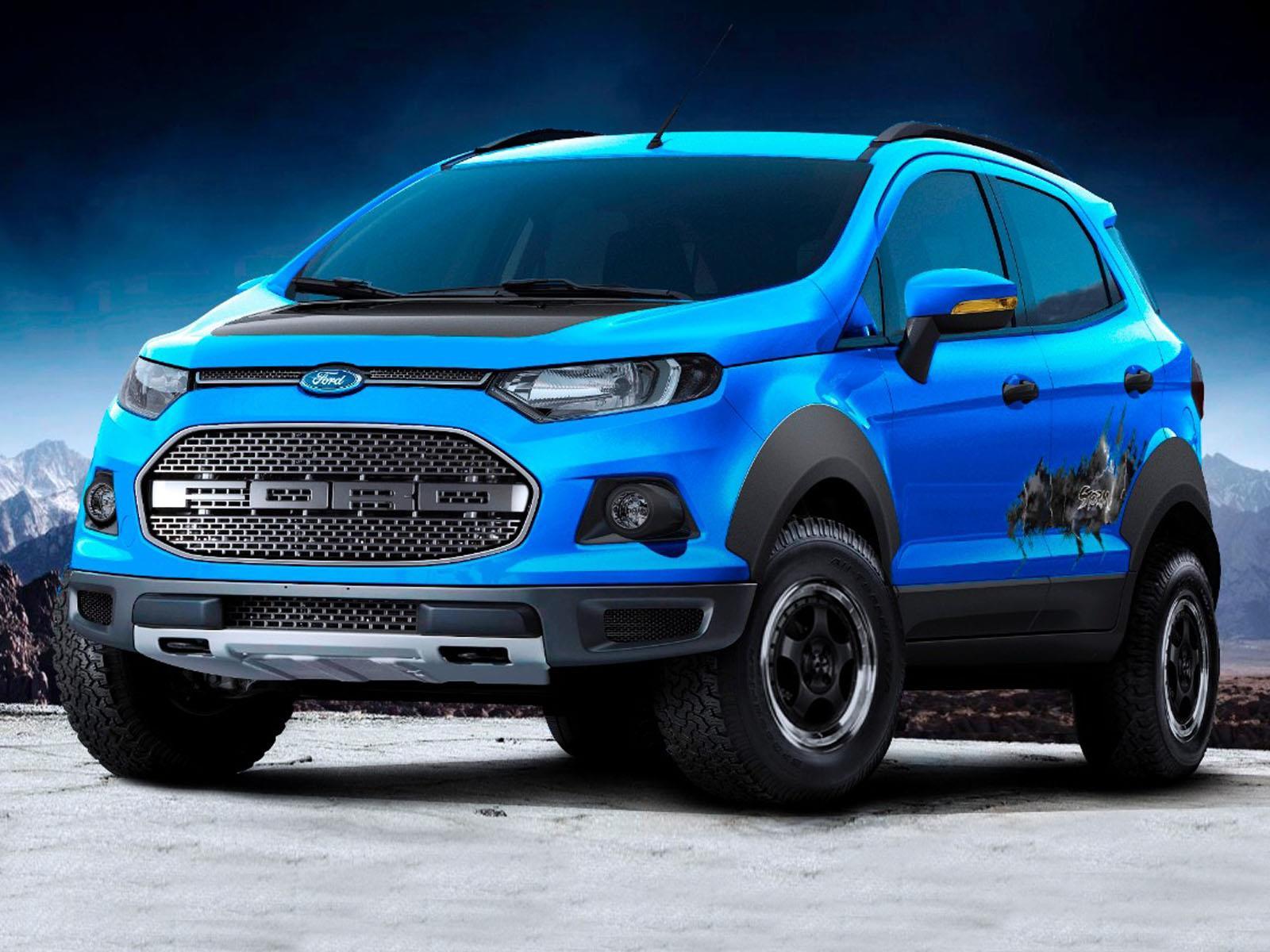 """Salón de Sao Paulo 2014 - Ford """"tunea"""" a la EcoSport en Sao Paulo - Noticias, novedades y ..."""