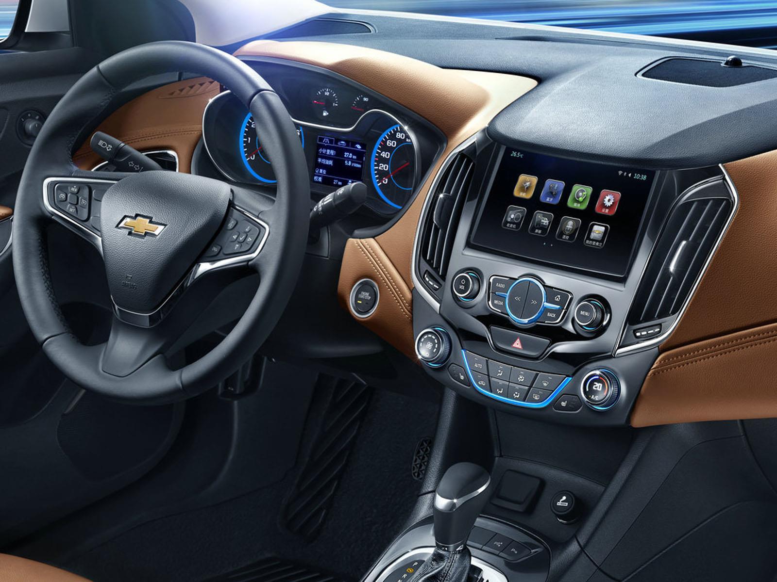 Chevrolet Cruze 2015, primeras imágenes del interior ...