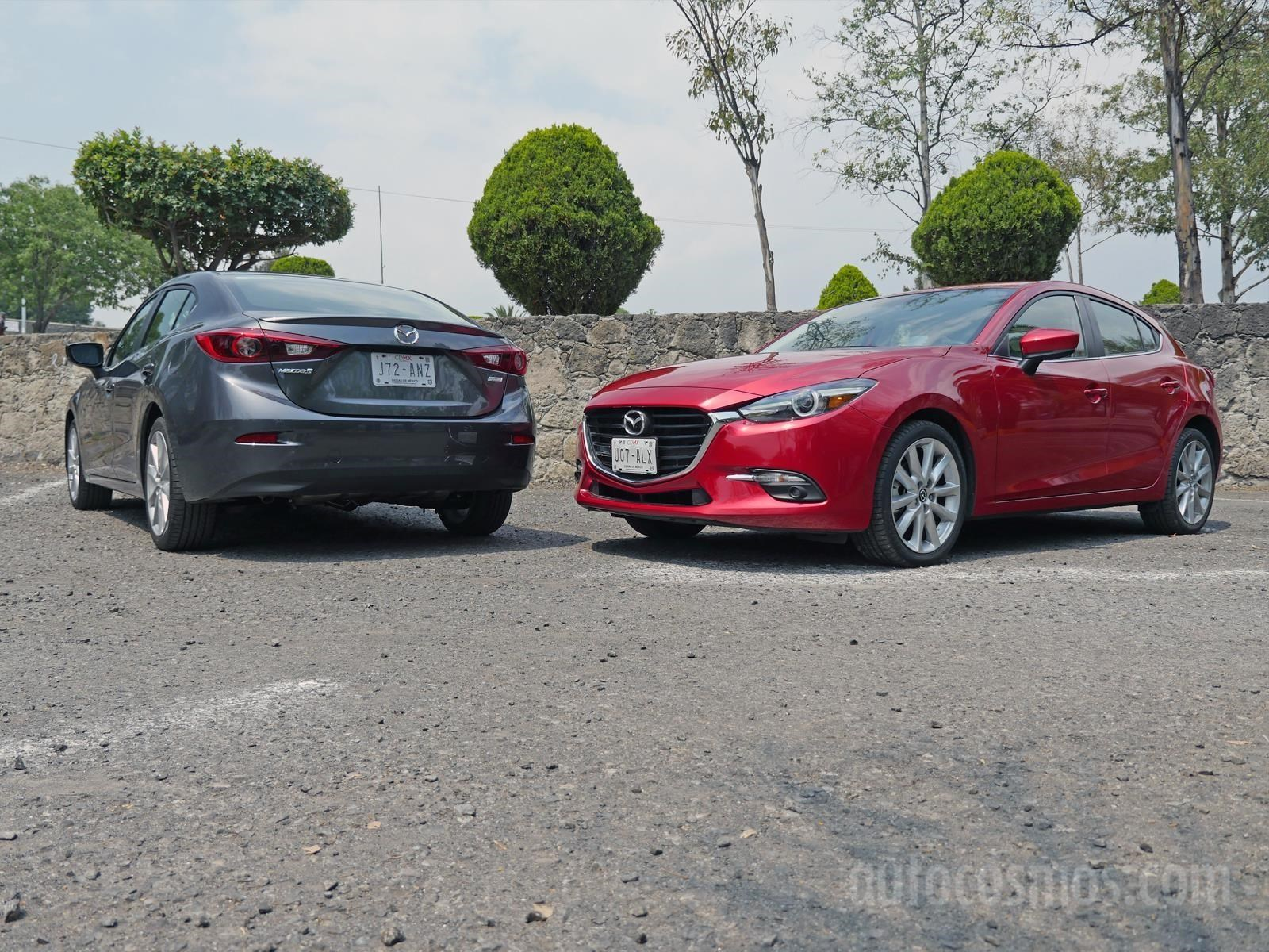Duelo de mellizos Mazda 3 Sedán vs Mazda 3 Hatchback Autocosmos