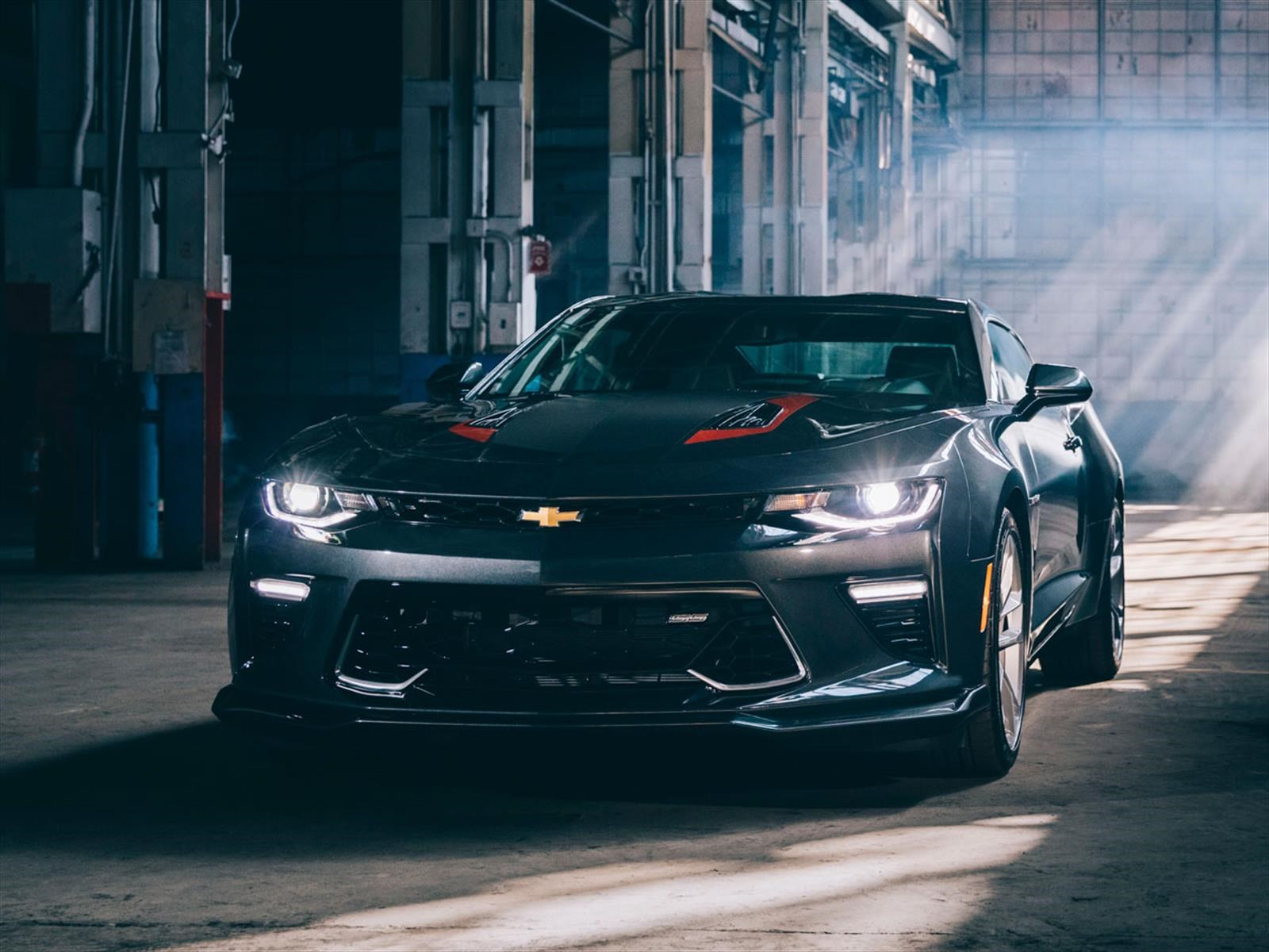 Chevrolet Camaro Fifty 2017 Autocosmos Com