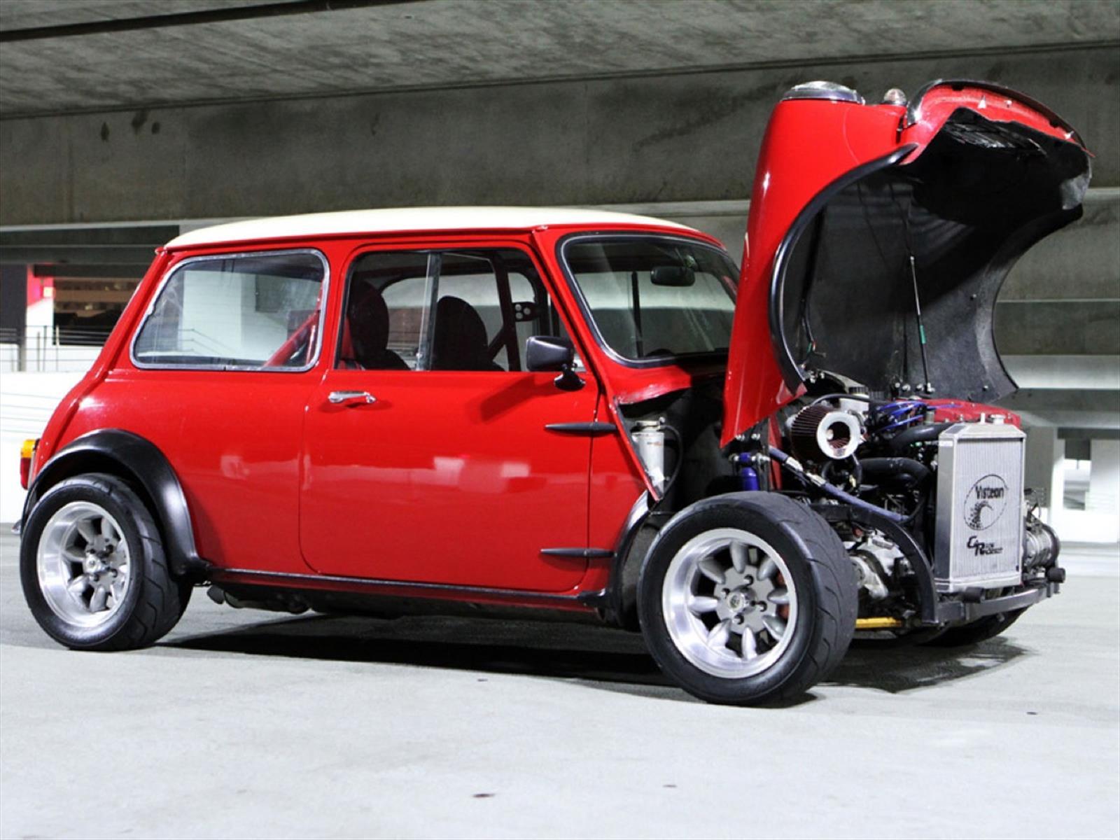 Mini cooper cl sico con motor de honda un sue o hecho - Mini clasico para restaurar ...