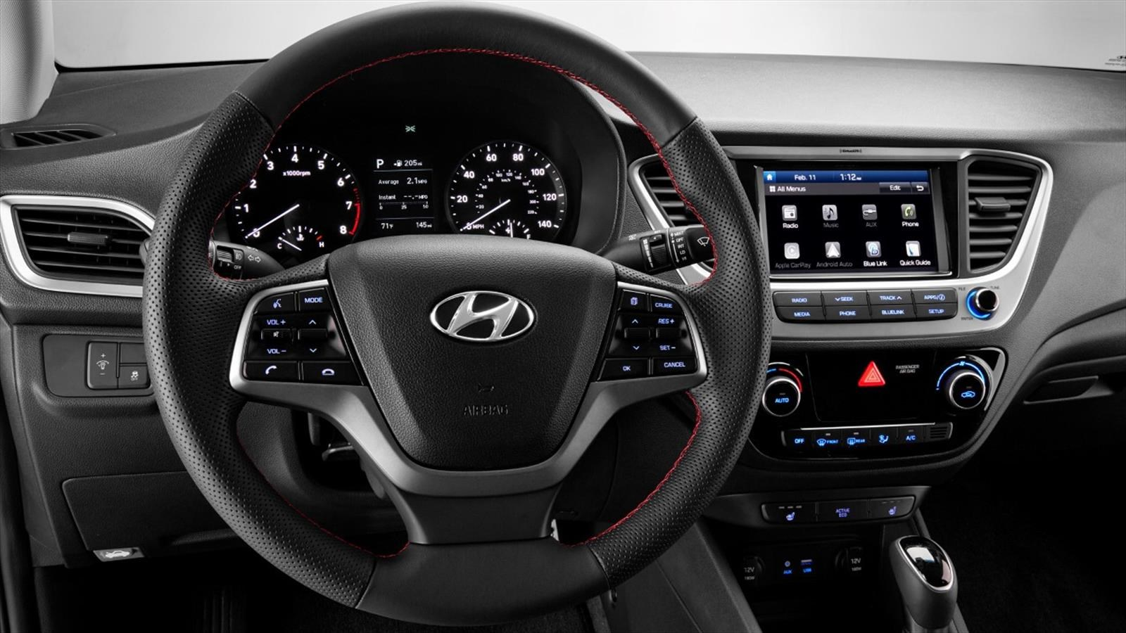 conoce al hyundai accent 2018. Black Bedroom Furniture Sets. Home Design Ideas