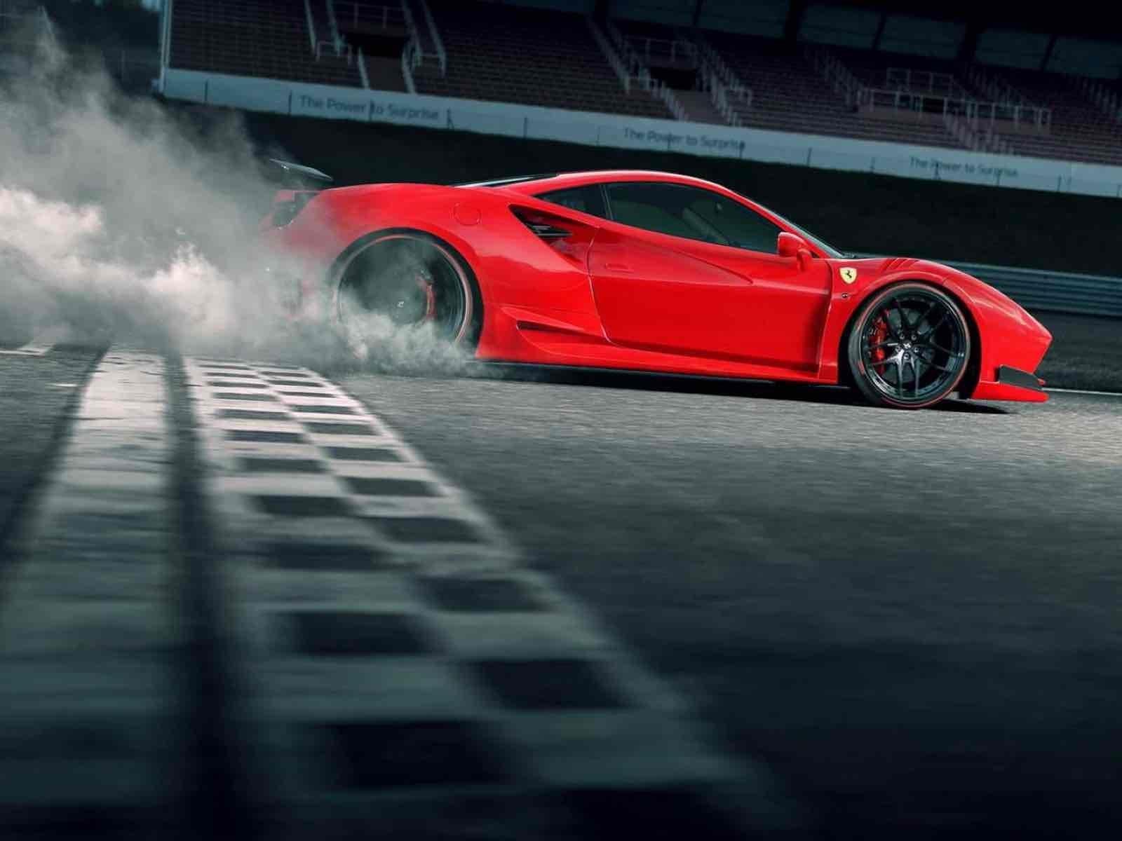Ferrari 488 gtb por novitec