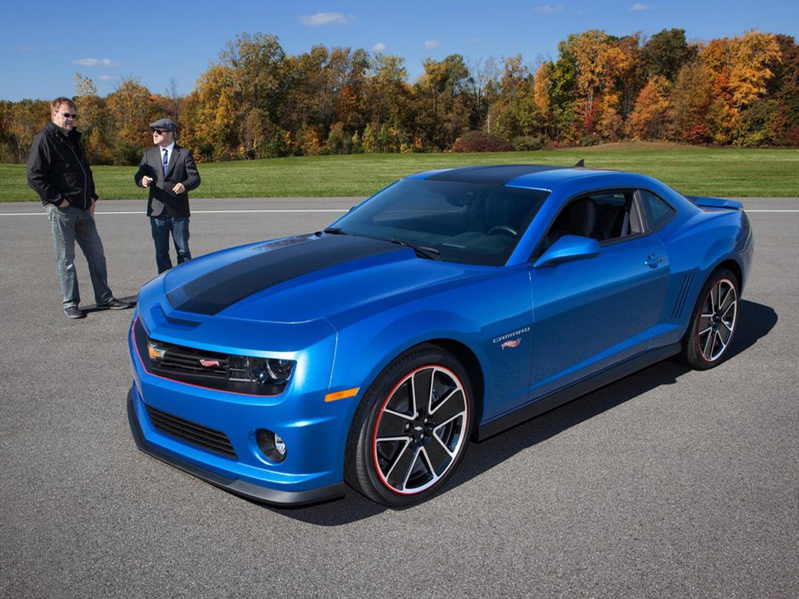 Chevrolet Camaro Hot Wheels Edition 2013 Autocosmos Com