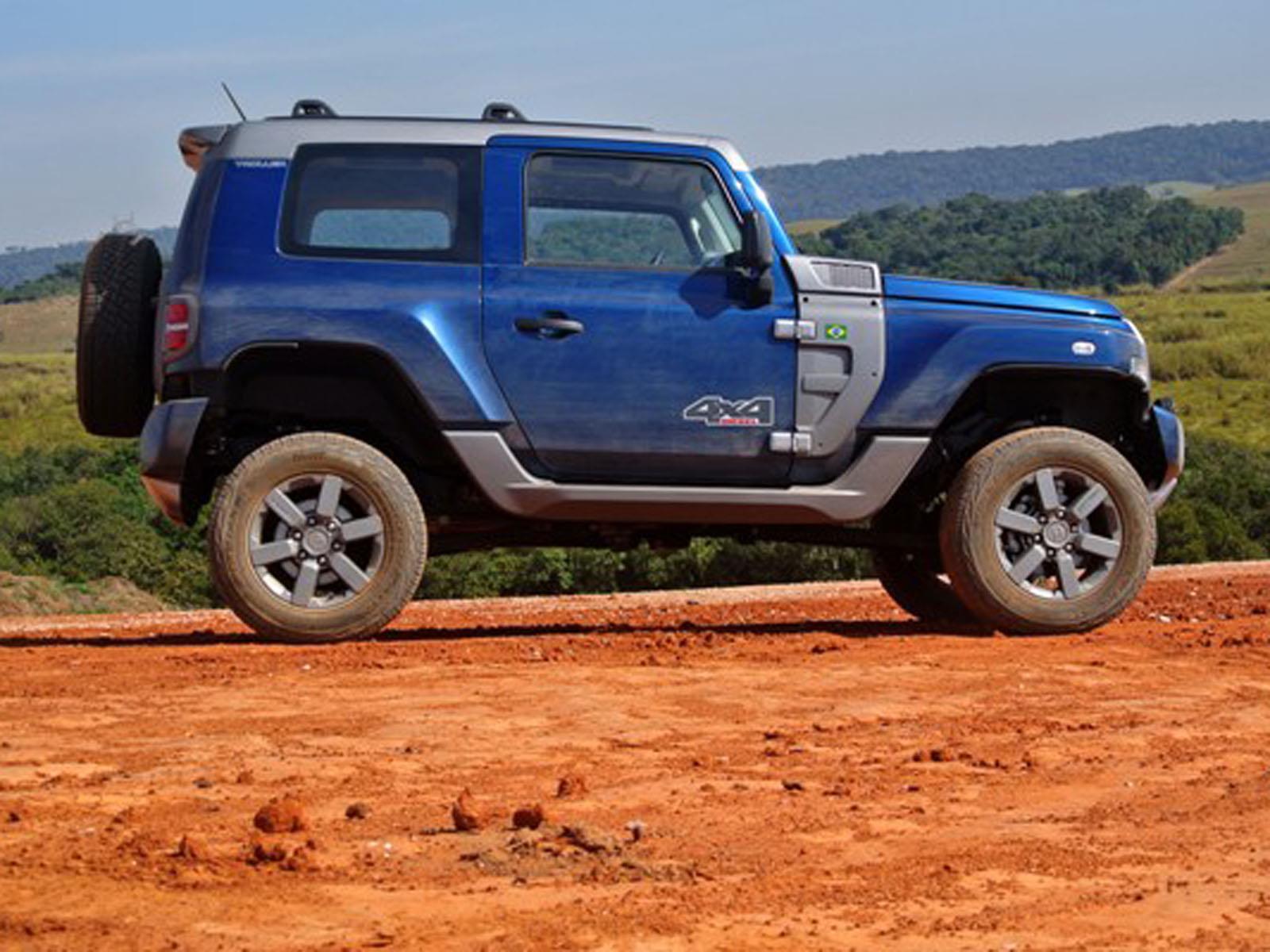Troller T4, manejamos el anti Jeeps de Ford en Brasil ...