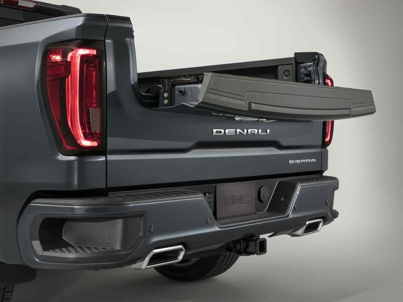 GMC Sierra 2019, estrena batea de carga de fibra de ...