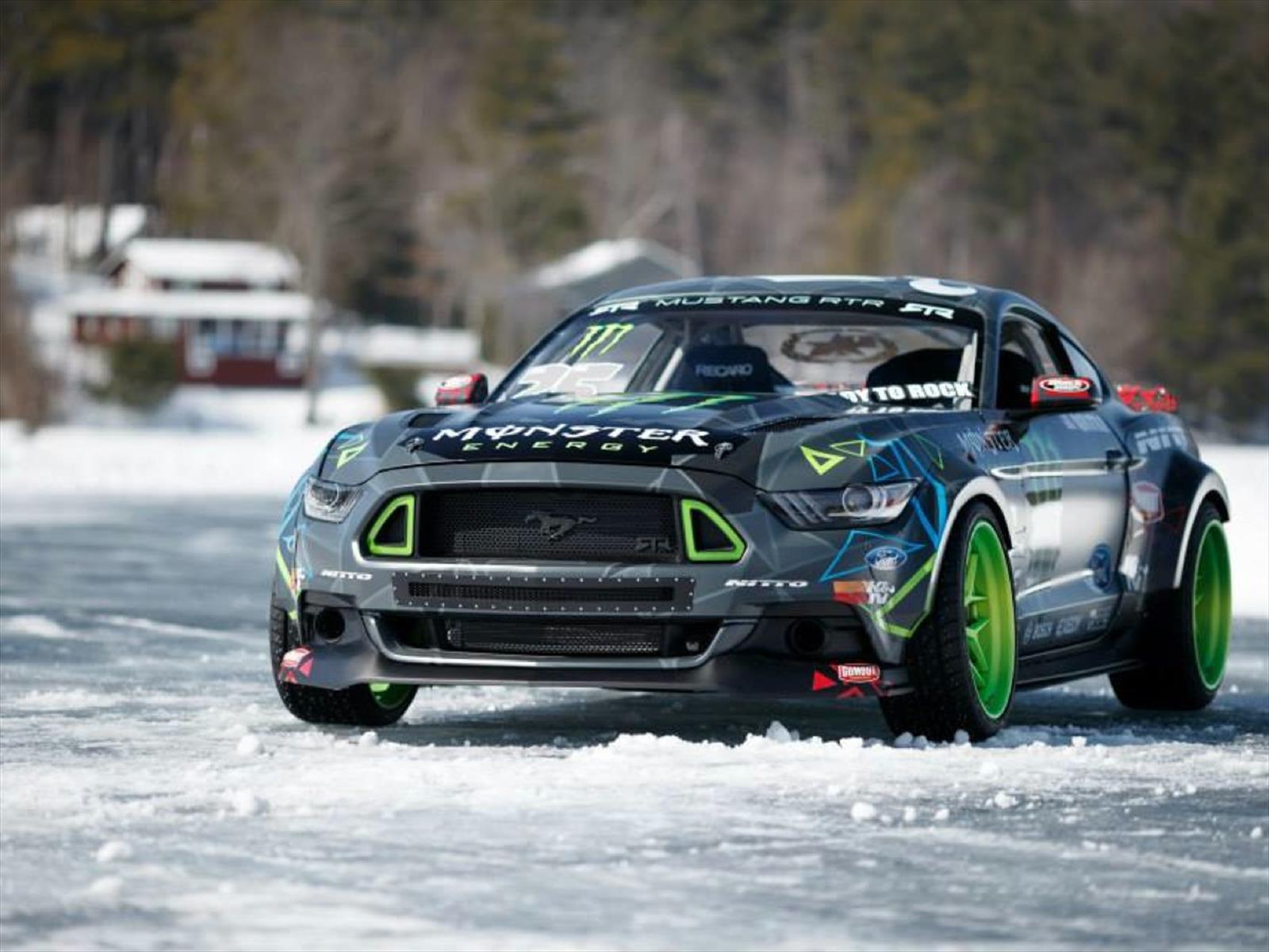Video Vaughn Gittin Jr En Control De Los 900 Hp Del Ford