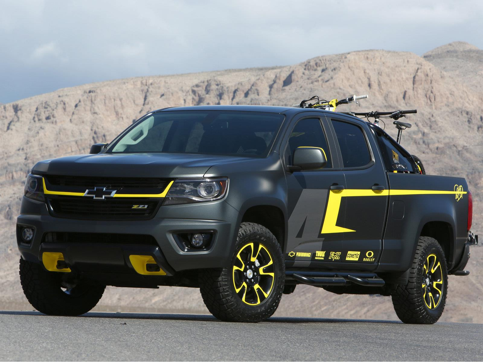Chevrolet Colorado Performance Concept Por Ricky Charmichael Autocosmos Com