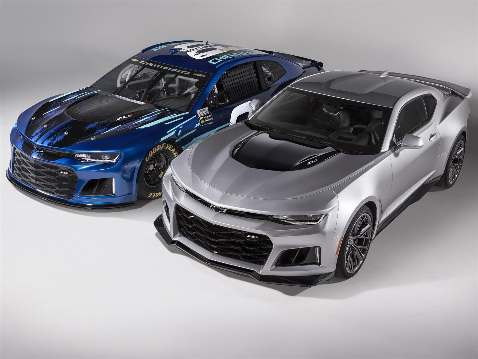 Chevrolet Camaro Zl1 Nascar 2018 Listo Para Conquistar