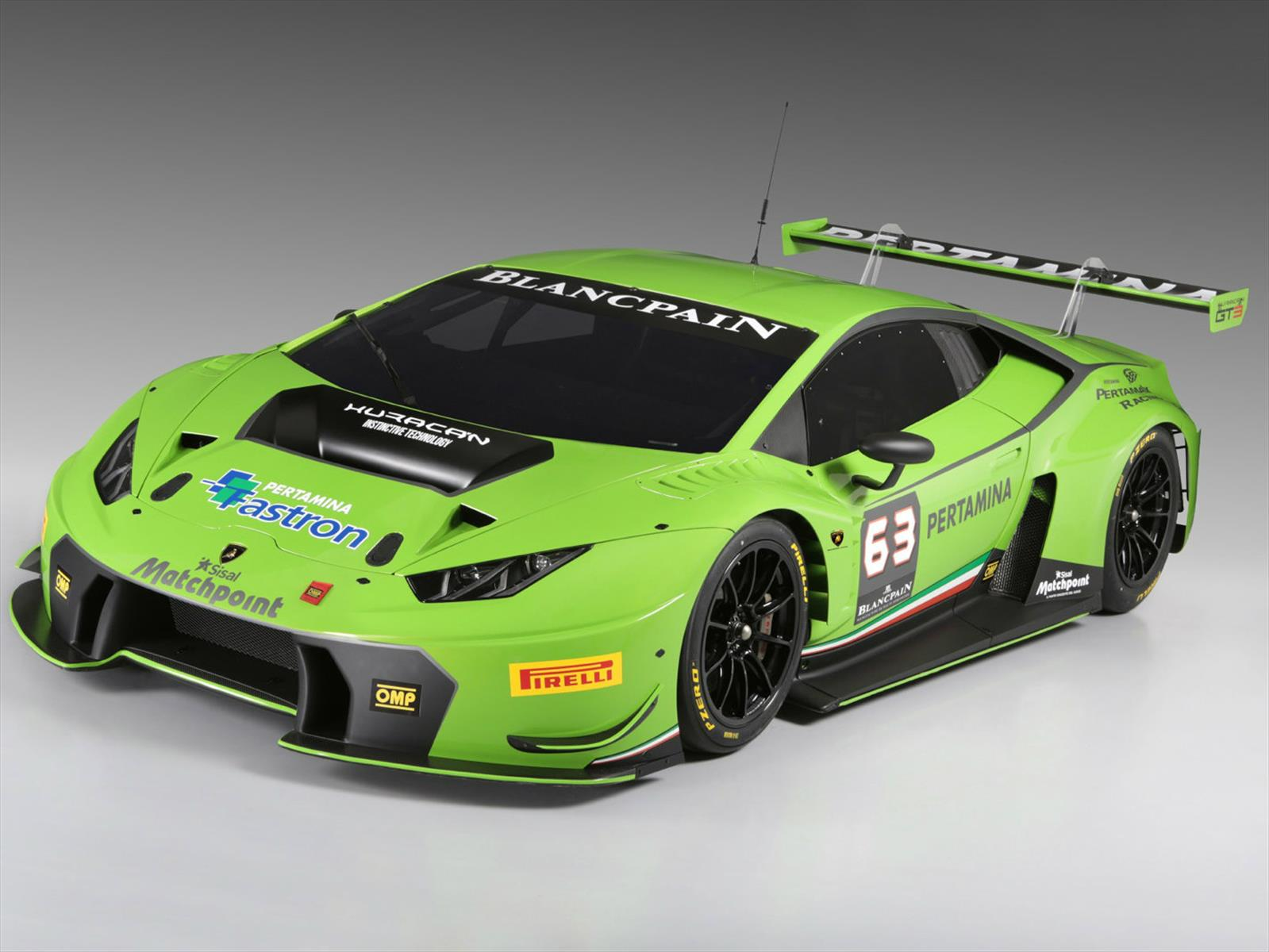 Lamborghini Huracán GT3 listo para competir - Autocosmos.com