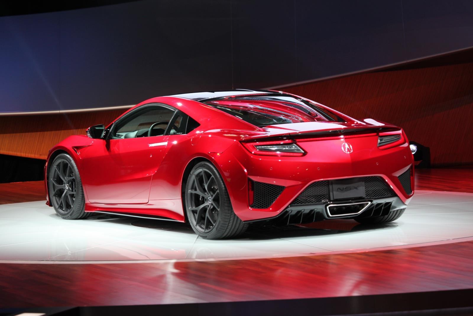 Acura NSX 2017 llega a México en 4.6 millones de pesos ...