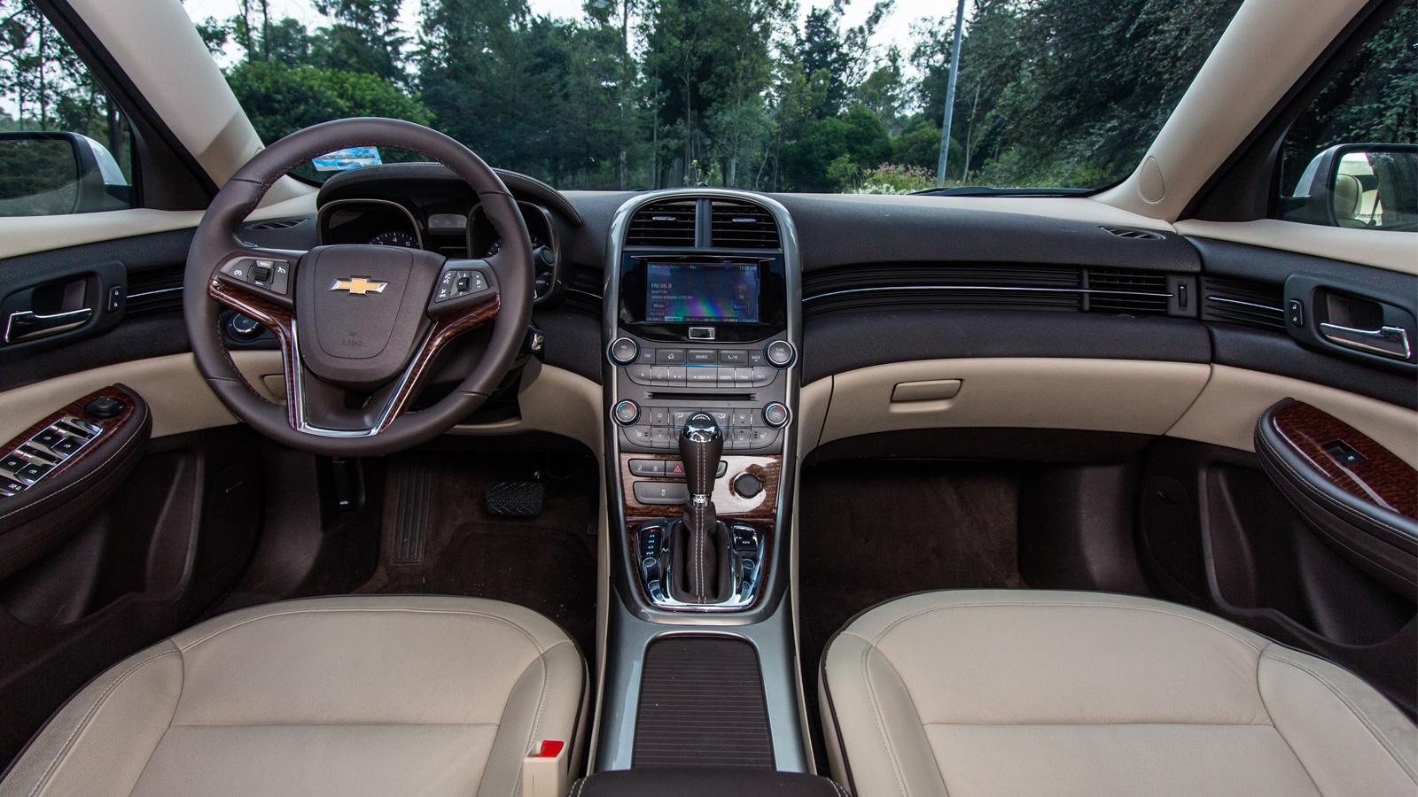 Chevrolet Malibu LT 2.5 2013 a prueba - Autocosmos.com