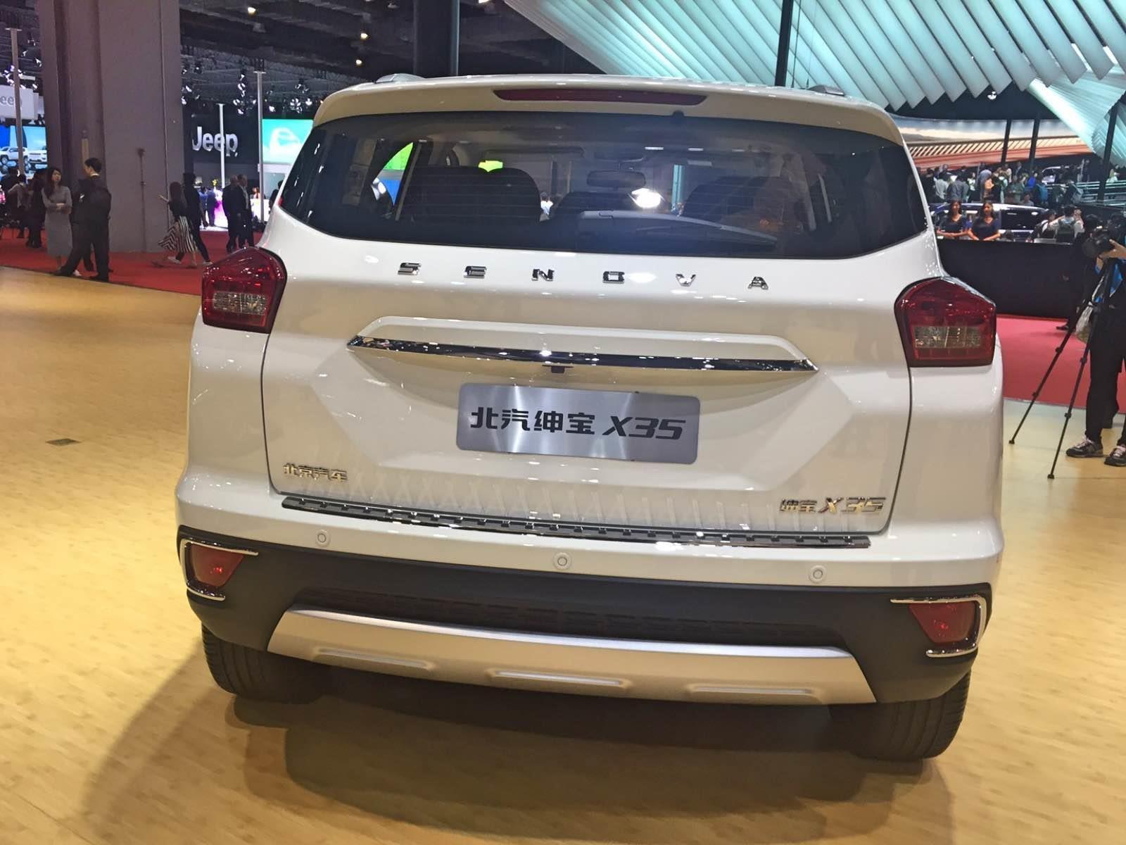 Auto Show De Shanghai 2017 Baic X35 2018 Aparece Un Nuevo Suv