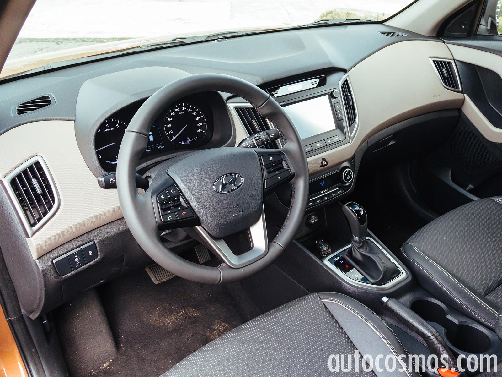 Hyundai Creta 2017 A Prueba Autocosmos Com