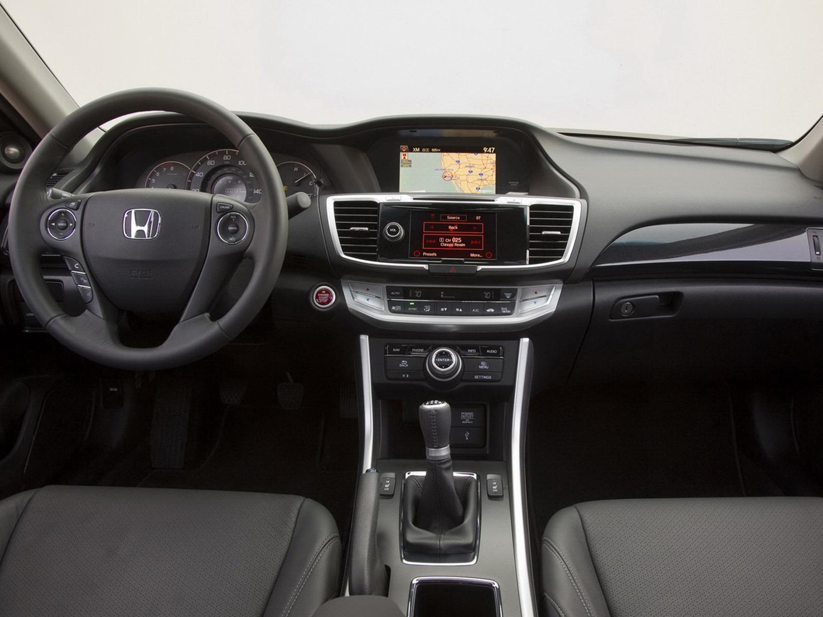Honda Accord Coup 233 2013 Autocosmos Com