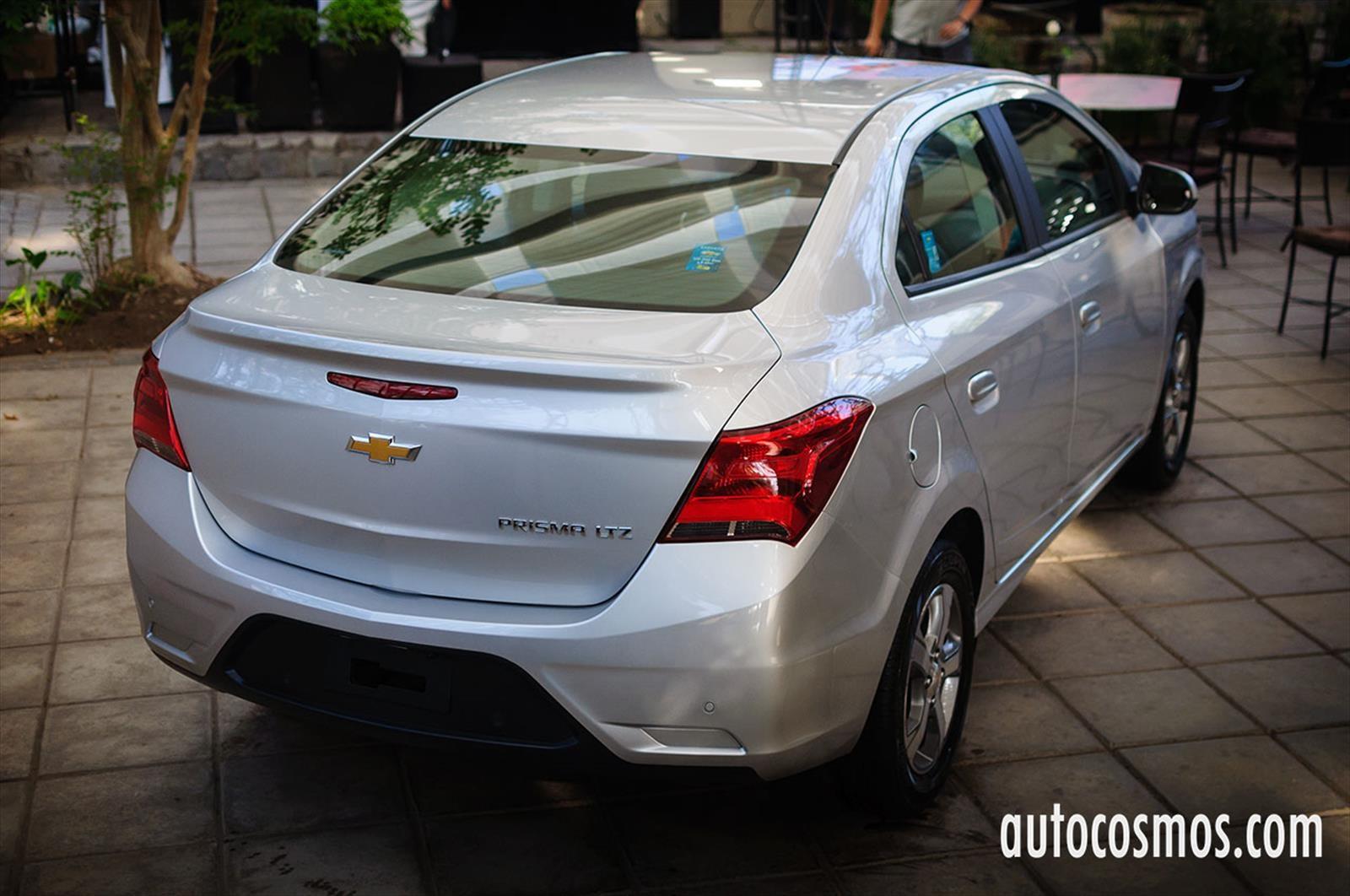 Chevrolet prisma 2017 lanzamiento en chile