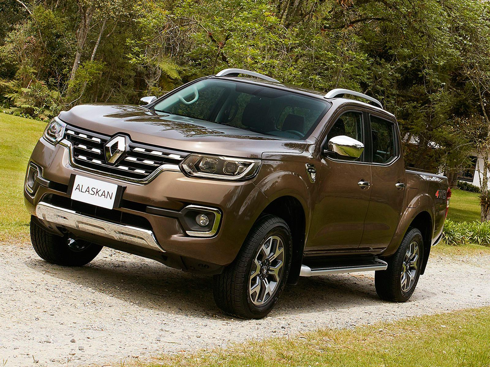 Renault Alaskan 2017, la pick up francesa se presenta ...