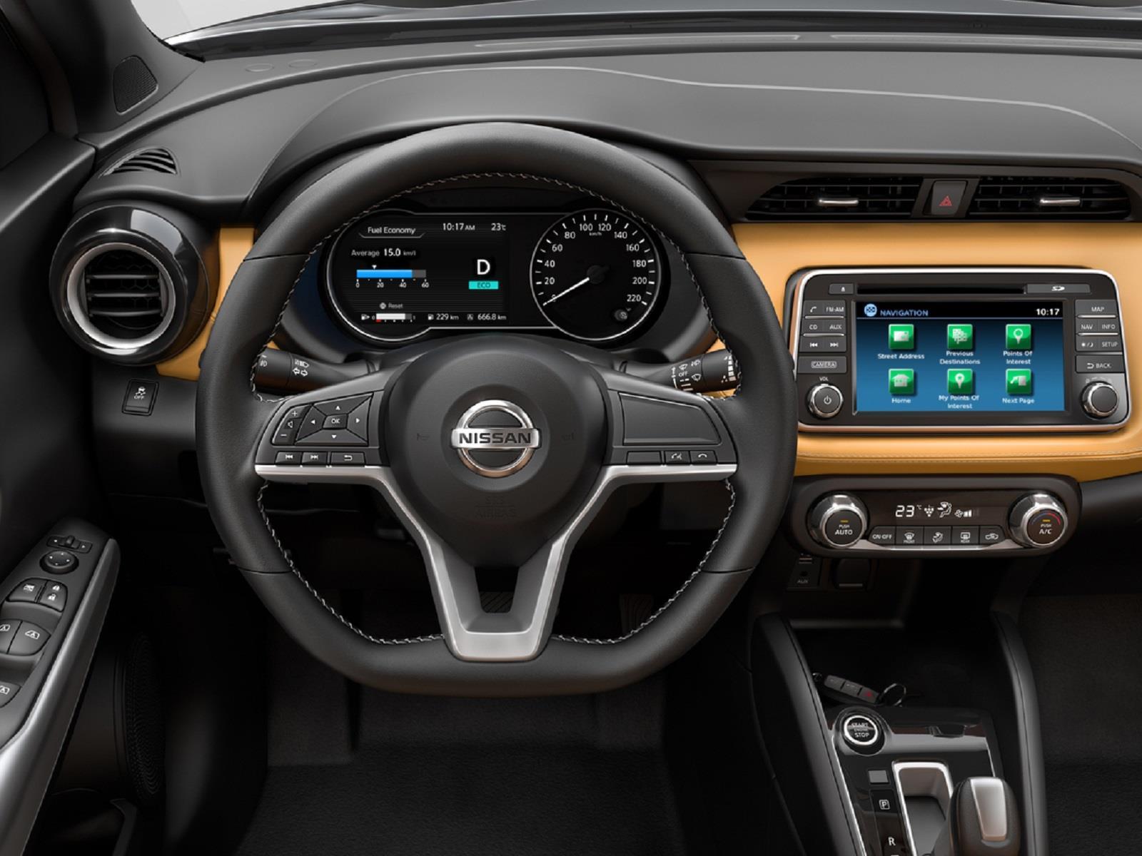Nissan Kicks 2017 Primeras Im 225 Genes Del Interior