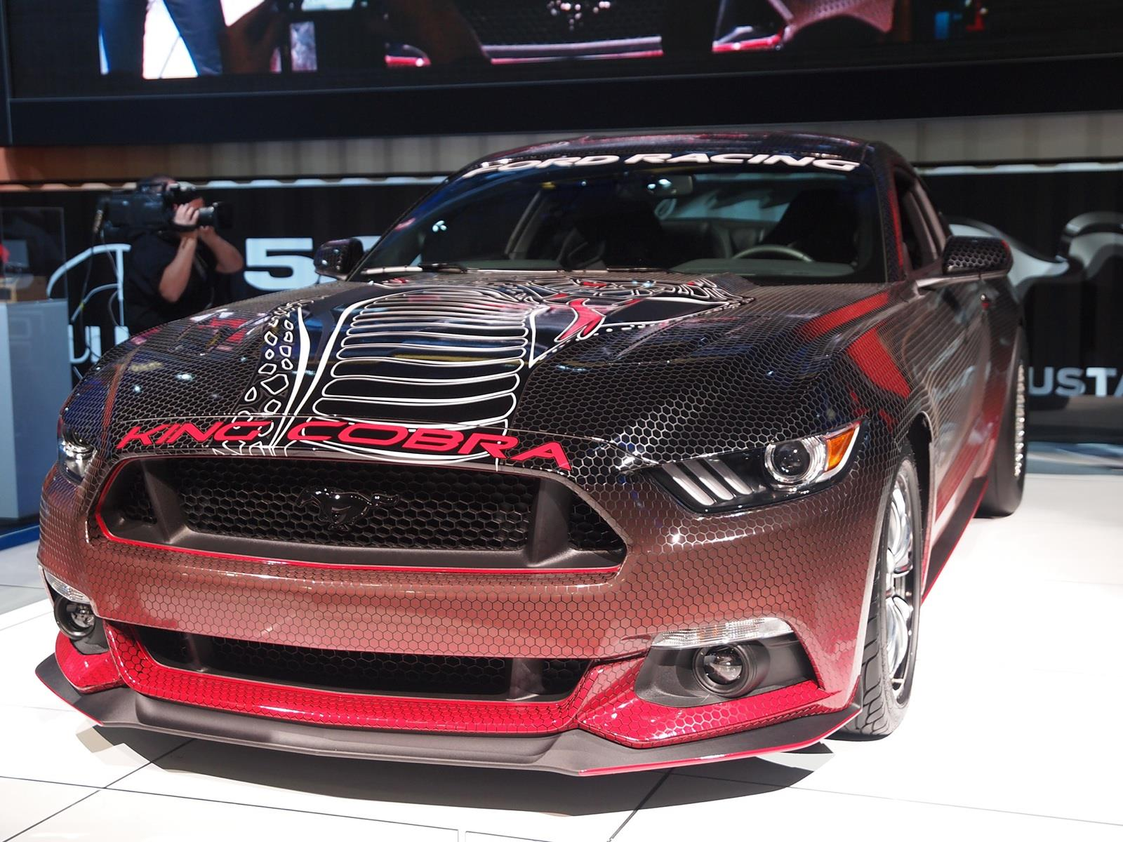 Ford Mustang King Cobra 2015 Con M 225 S De 600 Hp