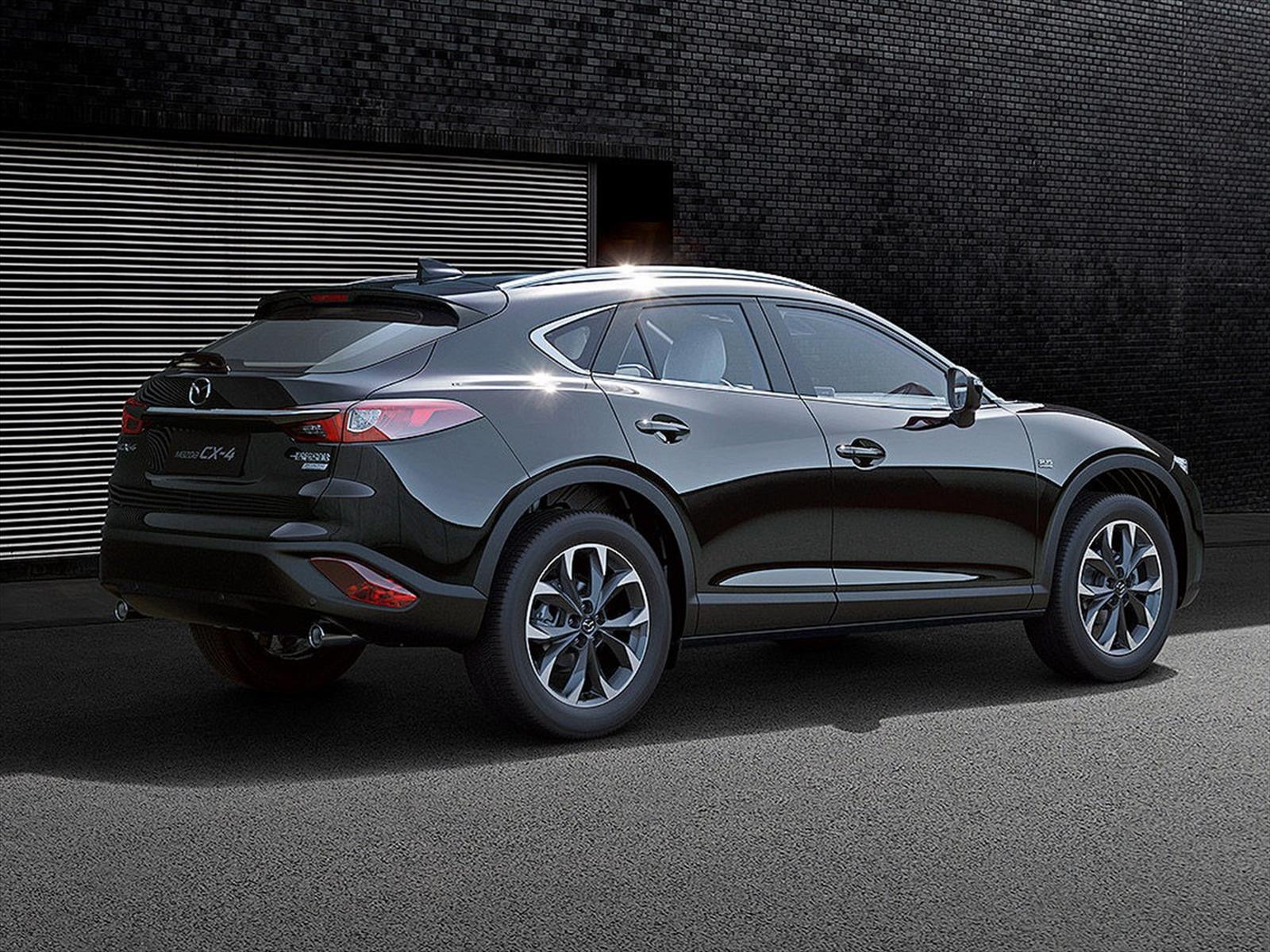 Mazda CX-4 2017: Se presenta el SUV Coupé - Autocosmos.com