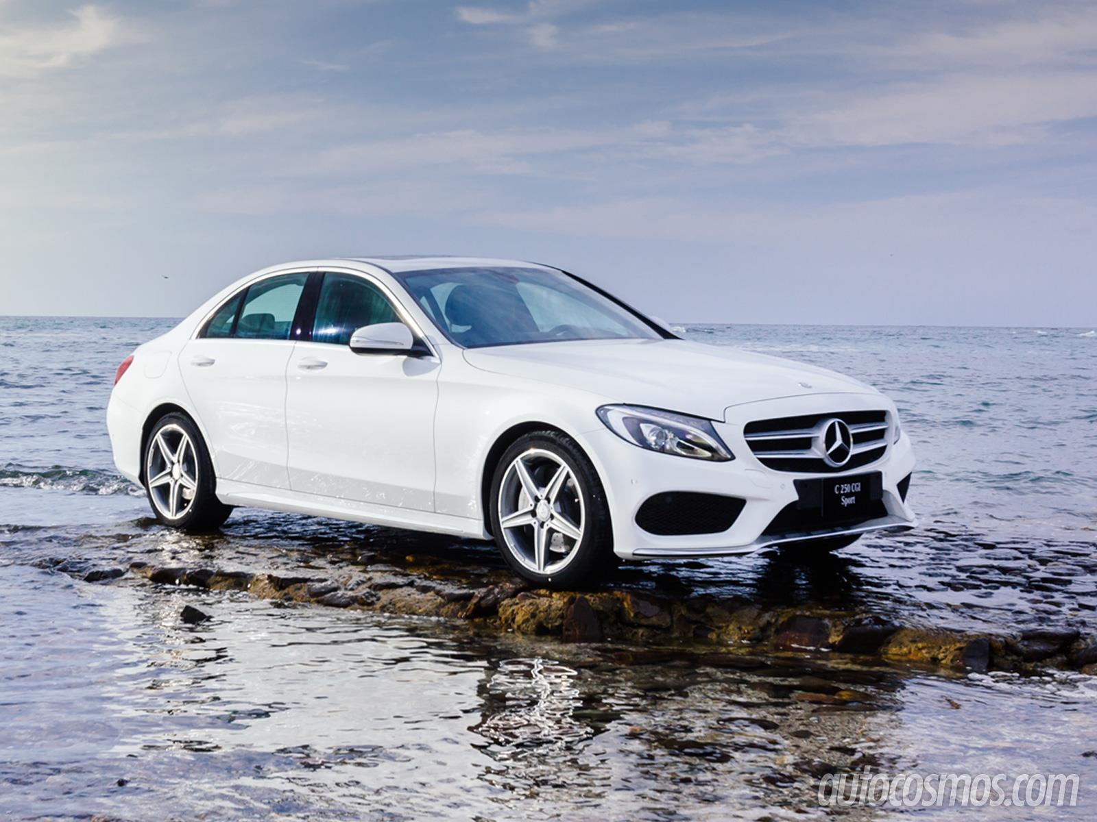 Manejamos el mercedes benz clase c 2015 for Mercedes benz clase c