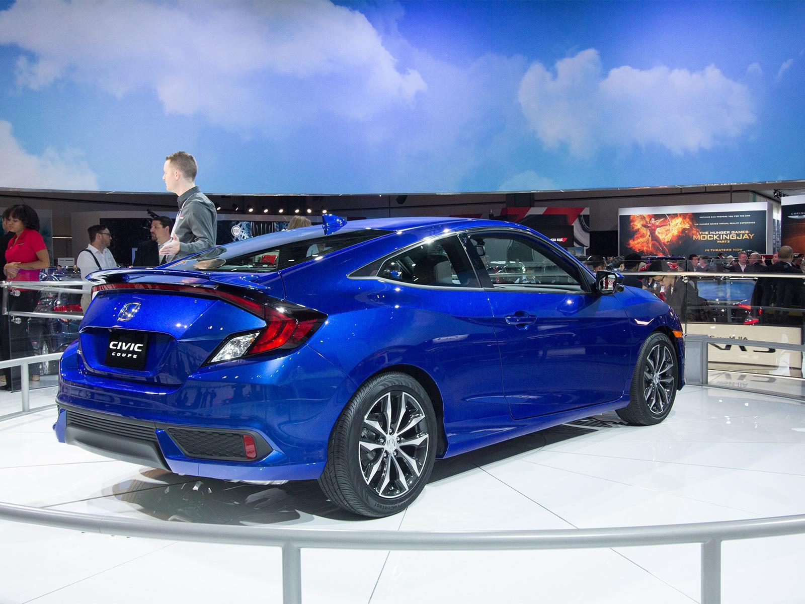 Honda Civic Coupé 2016 llega a México en $361,900 pesos ...