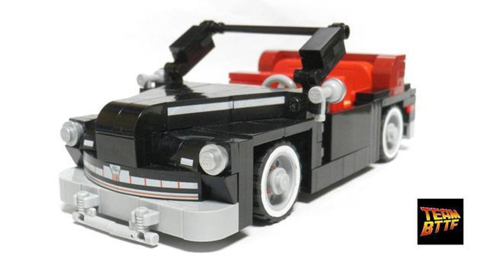 Delorean De Volver Al Futuro Hecho En Lego Autocosmos Com