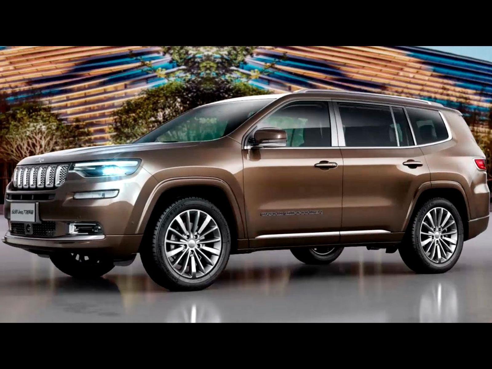 Nueva Grand Cherokee 2019 >> Jeep Grand Commander 2019, un nuevo todoterreno para siete pasajeros - Autocosmos.com