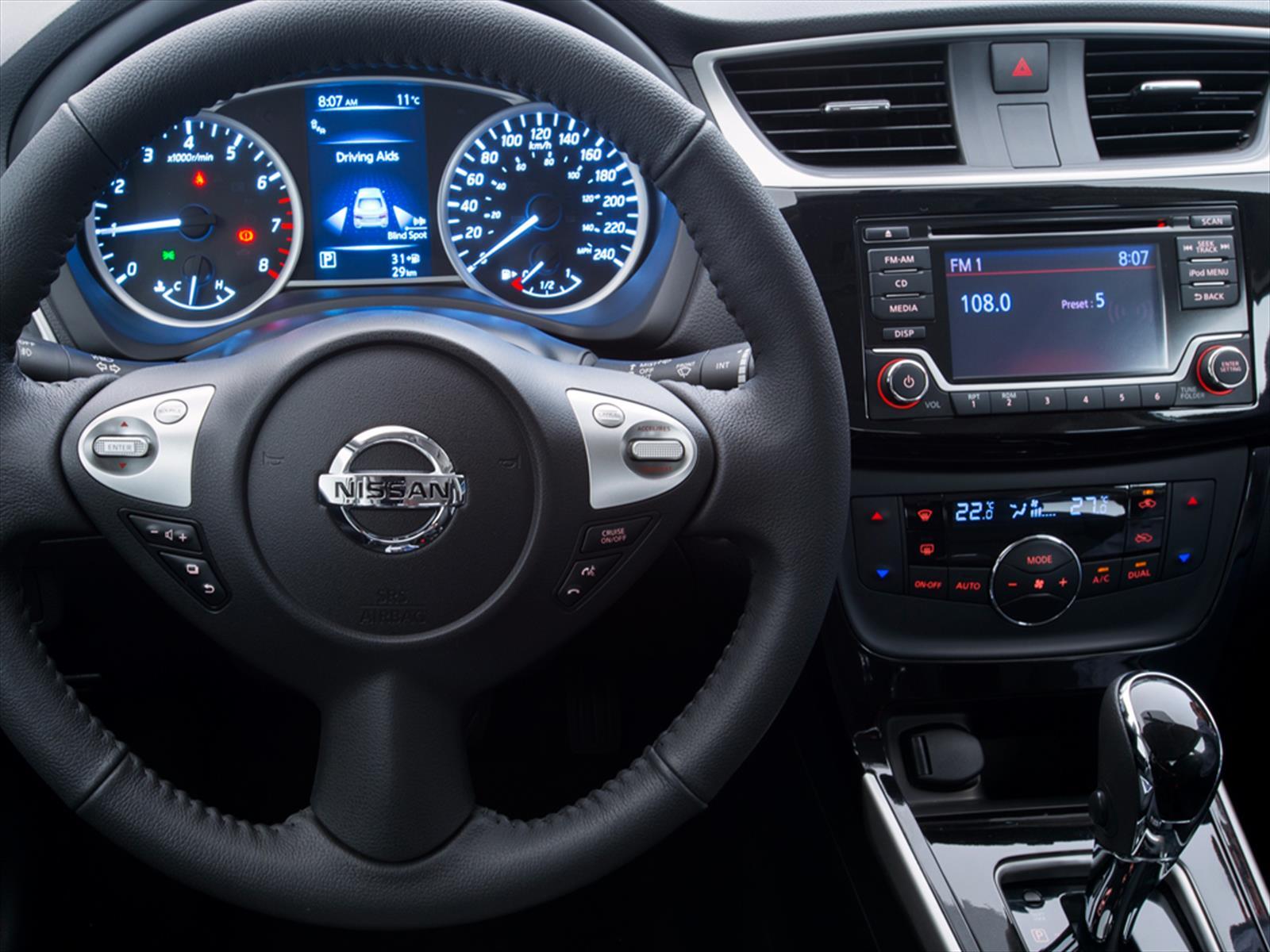 Nuevo Nissan Sentra 2017 ya está en Chile - Autocosmos.com
