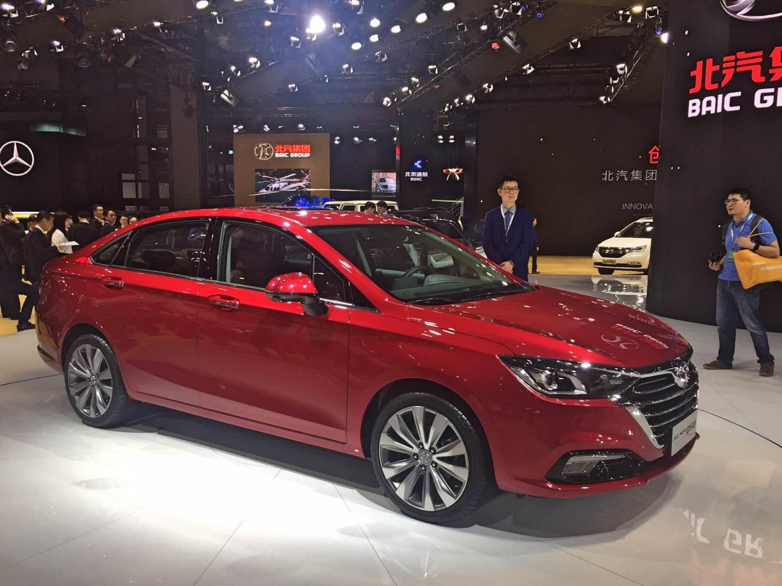 Auto Show De Shanghai 2017 Baic D50 2018 Con Altas Probabilidades