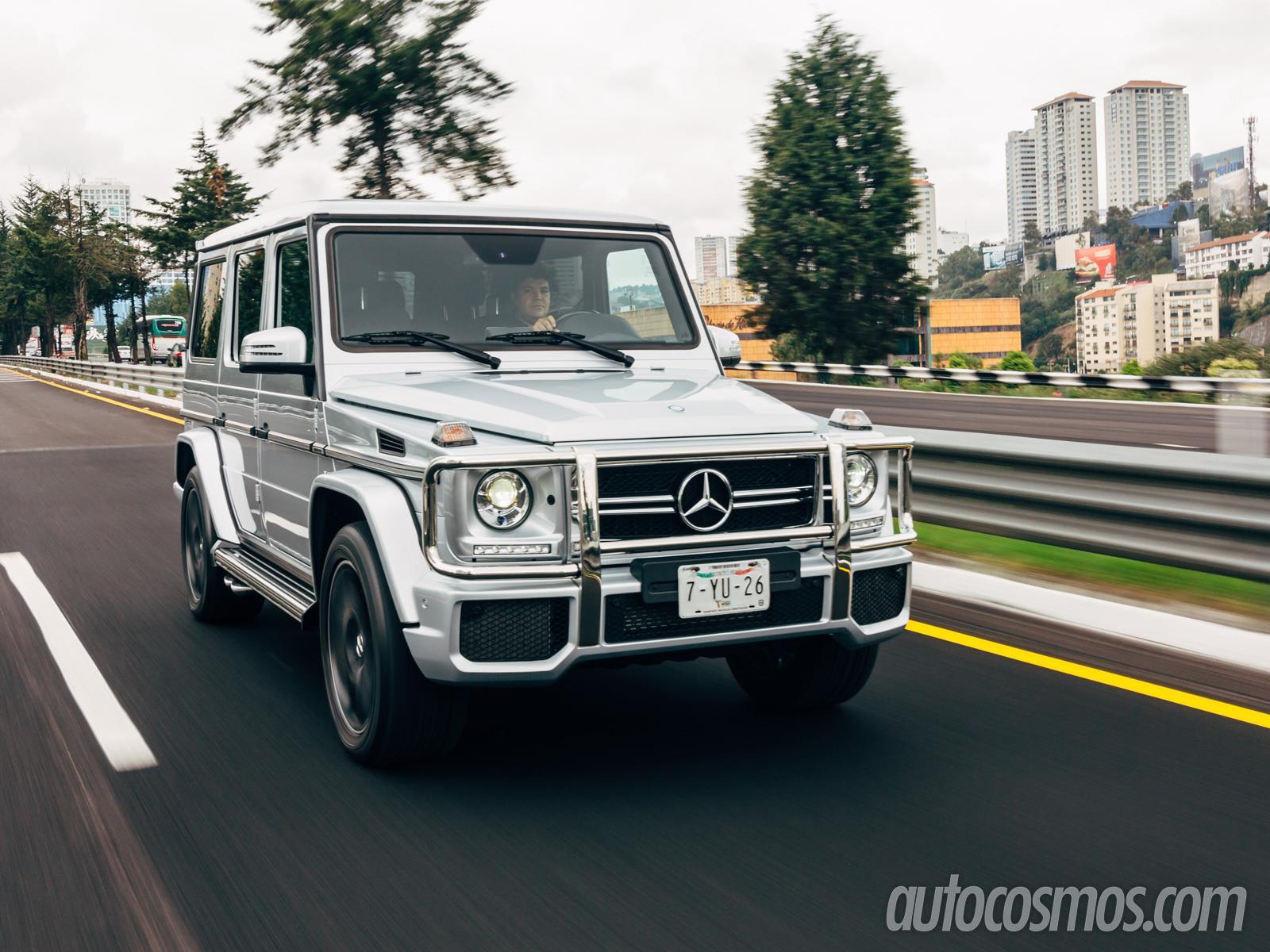 Mercedes Benz G63 Amg 2014 A Prueba Autocosmos Com