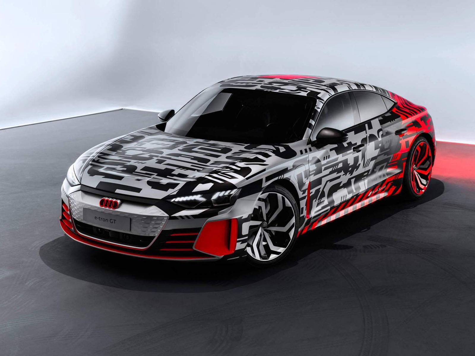 Audi E Tron Gt Concept Para Ponerse Las Pilas Autocosmoscom